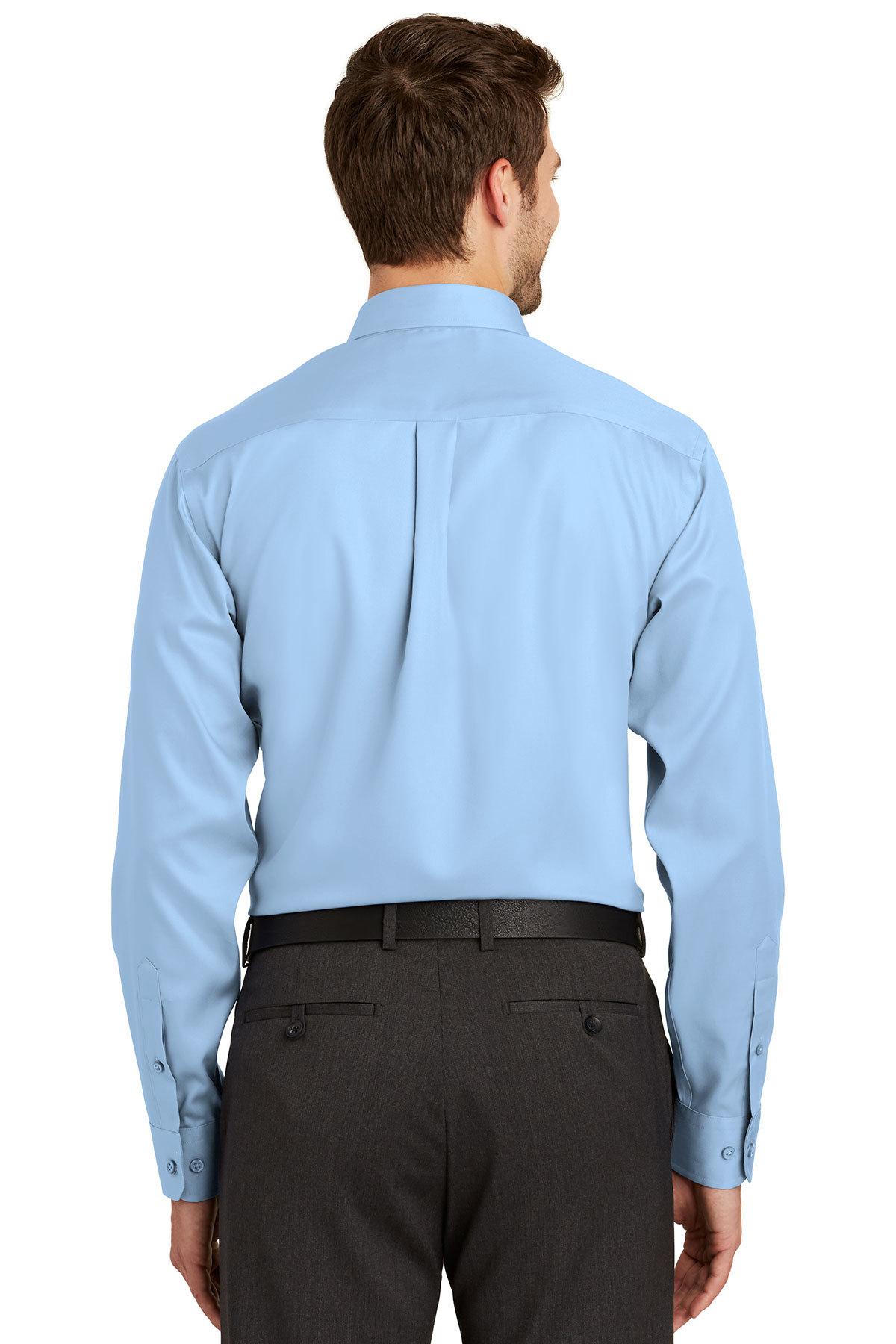 Port Authority Mens Long Sleeve Non-Iron Twill Shirt S638