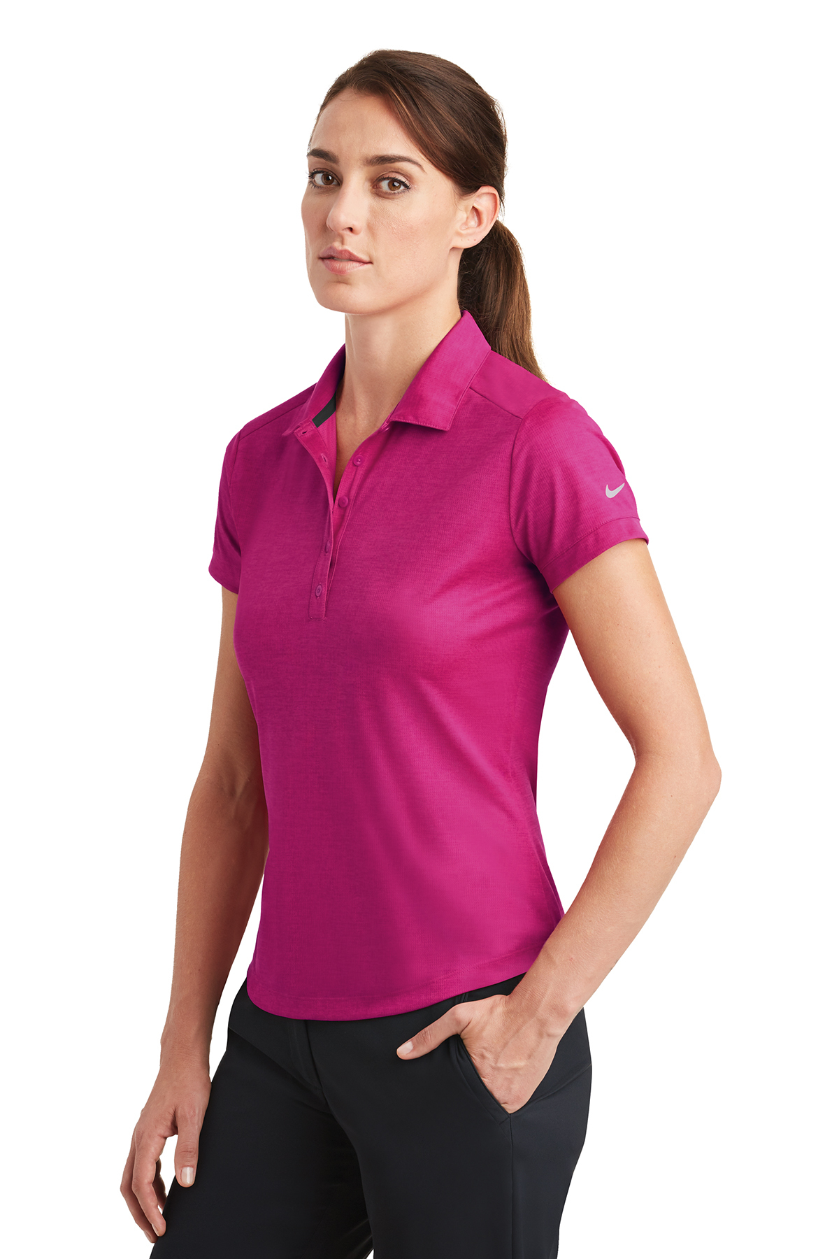 65eb4a3be975c ... Nike Ladies Dri-FIT Crosshatch Polo. A maximum of 8 logos have been  uploaded. Please remove a logo from My Logos to continue