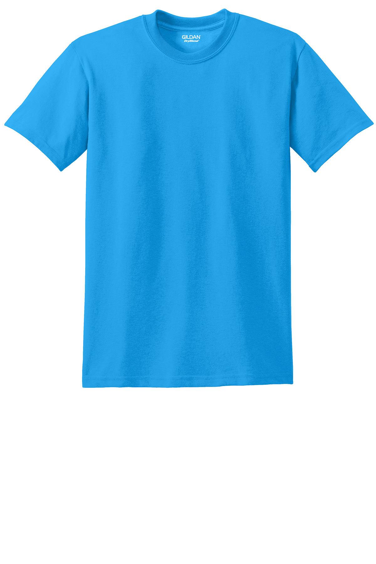 Gildan 174 Dryblend 174 50 Cotton 50 Poly T Shirt 50 50