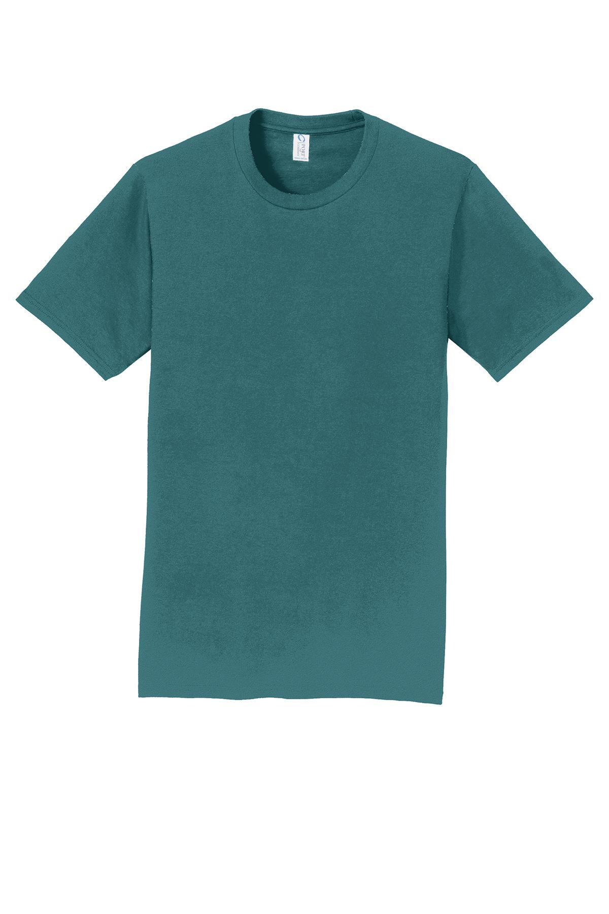 port company fan favorite tee 100 cotton t shirts. Black Bedroom Furniture Sets. Home Design Ideas