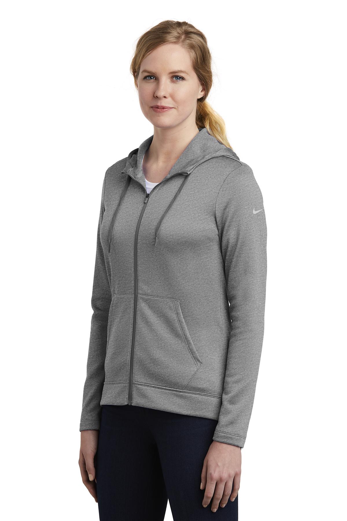 Therma Nike Zip FIT Full Ladies Fleece HoodieSweatshirts 35R4jLcAq