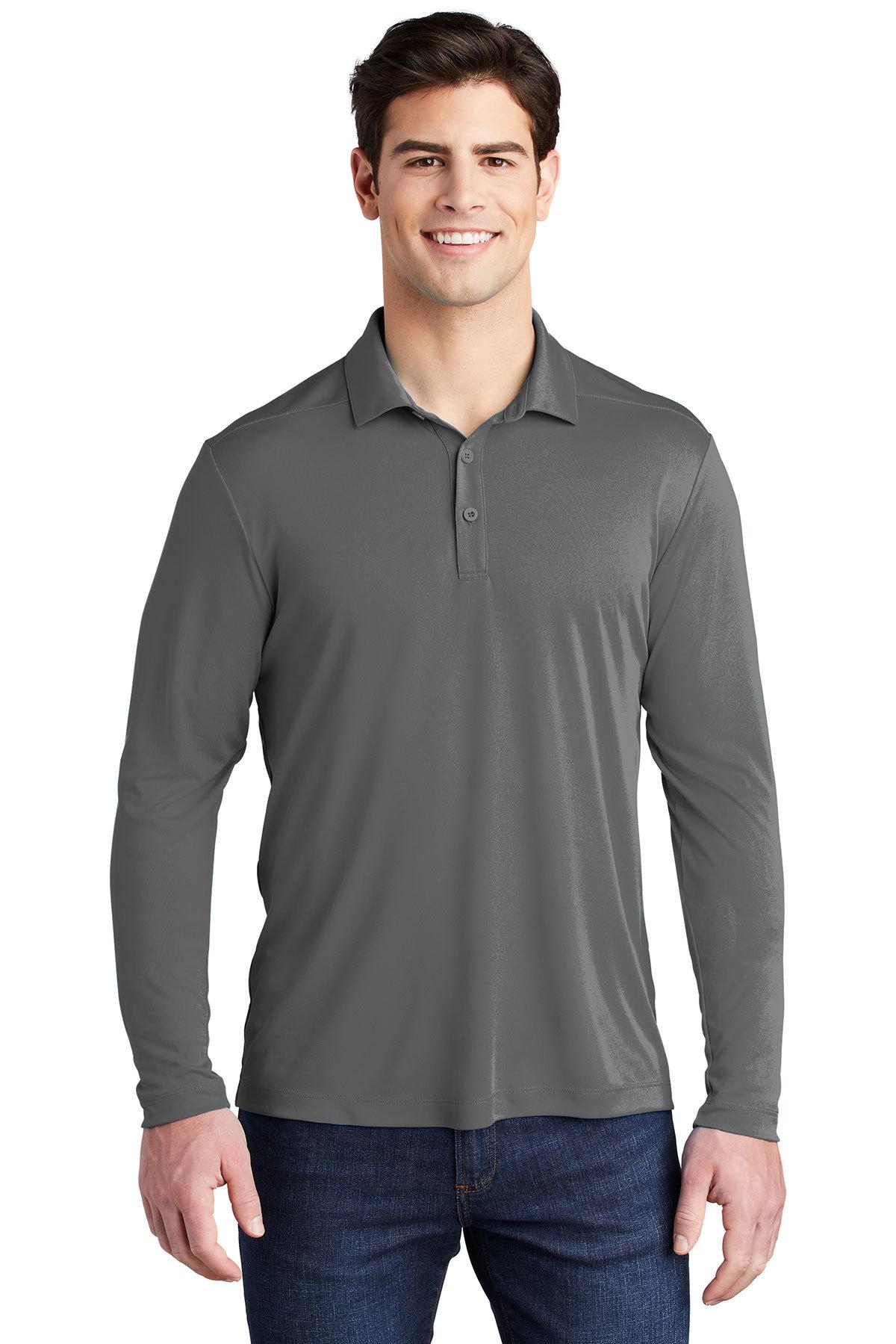 Sport-Tek Posi-UV Pro Long Sleeve Polo