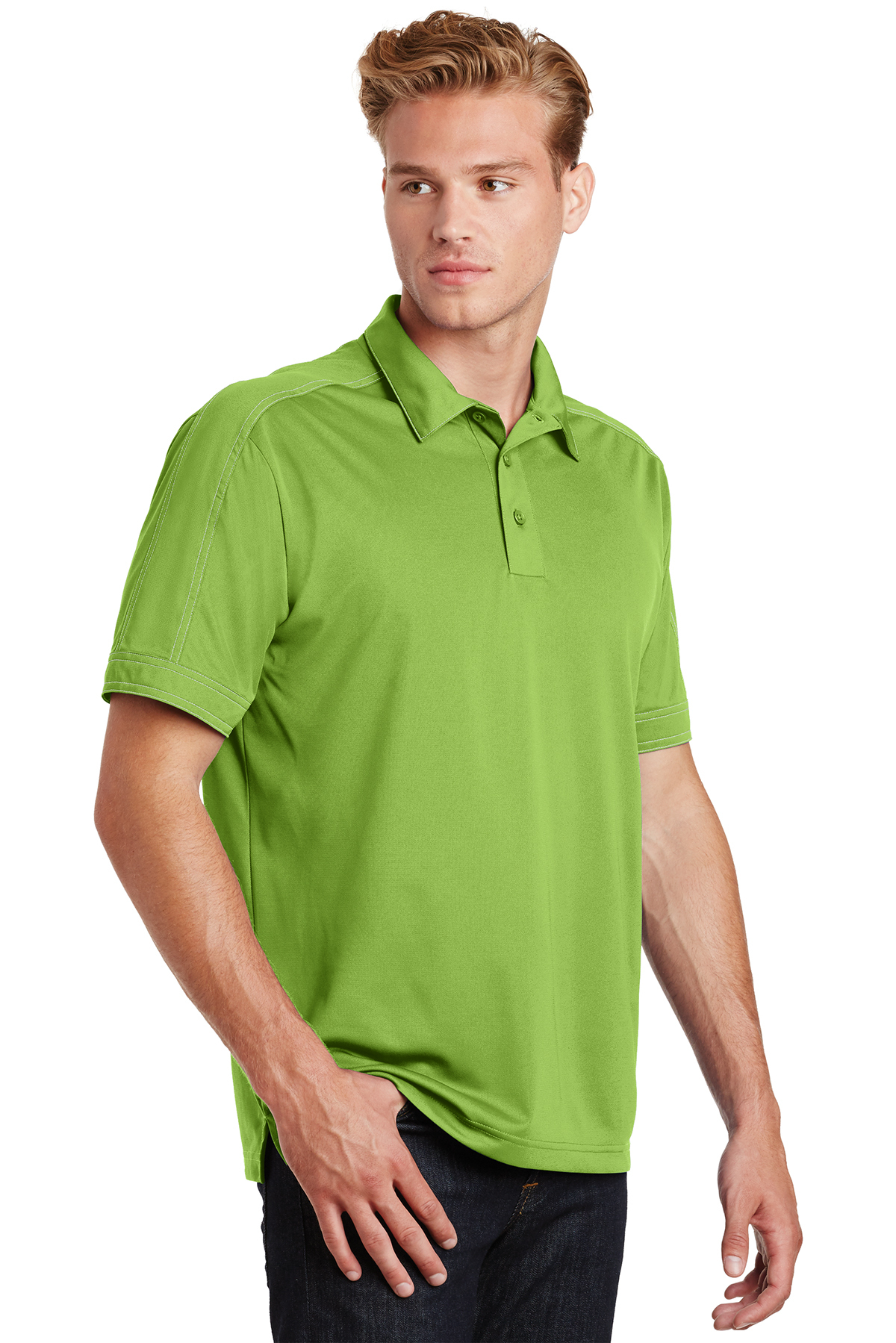 Contrast Stitch Micropique Sport-Wick Performance Polo Shirt Sport-Tek ST659