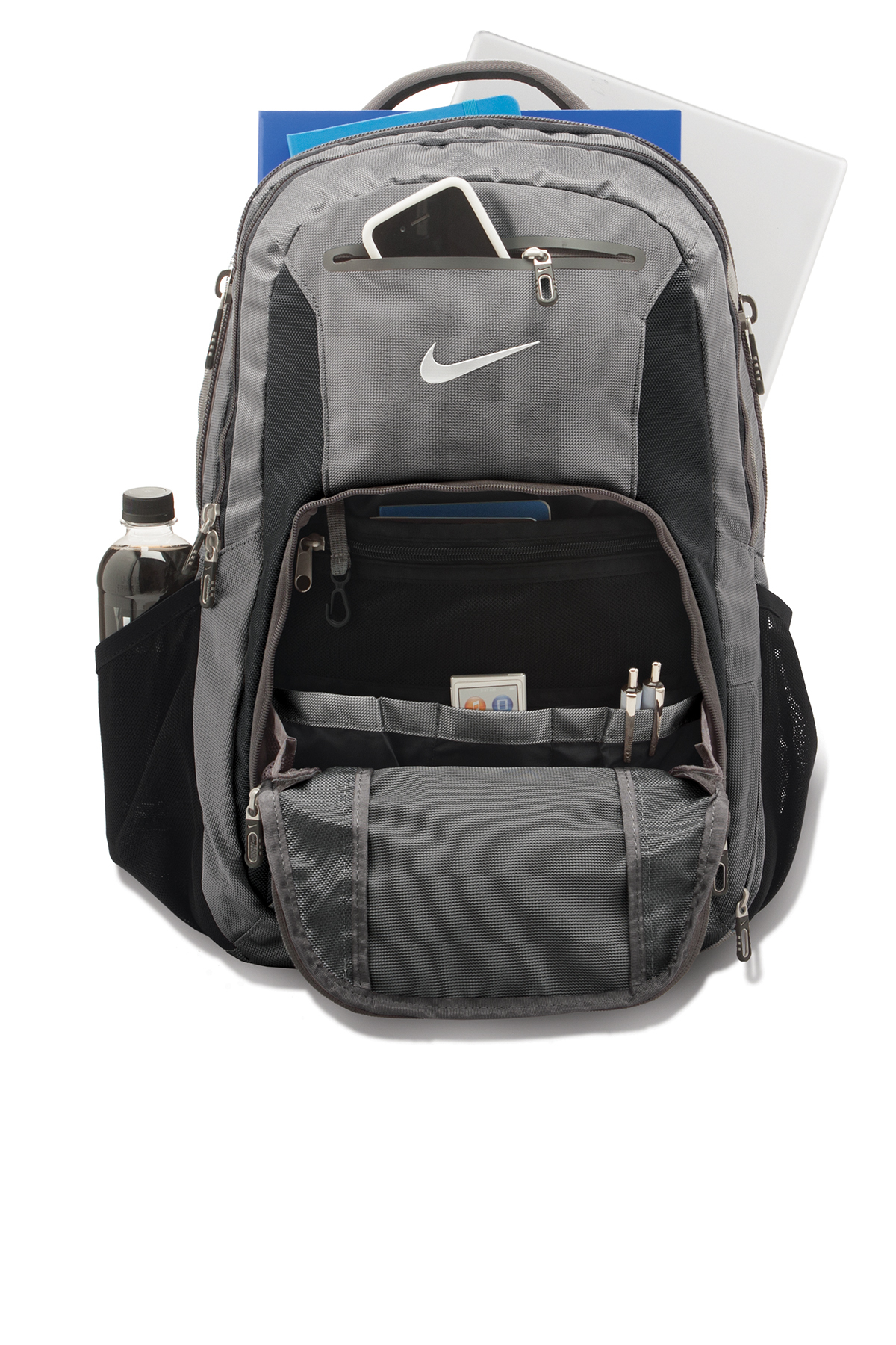 ... Backpacks  Nike Elite Backpack. A maximum of 8 logos have been  uploaded. Please remove a logo from My Logos to continue f06a820d85602
