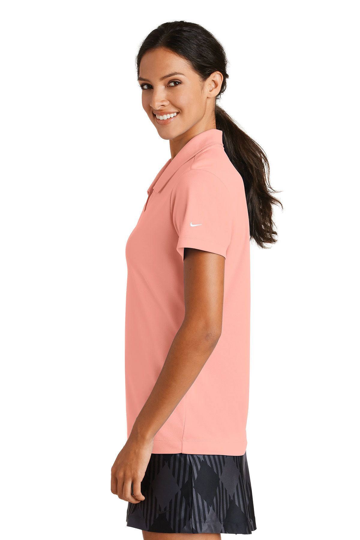 6534ed9e ... Nike Ladies Dri-FIT Micro Pique Polo. A maximum of 8 logos have been  uploaded. Please remove a logo from My Logos to continue