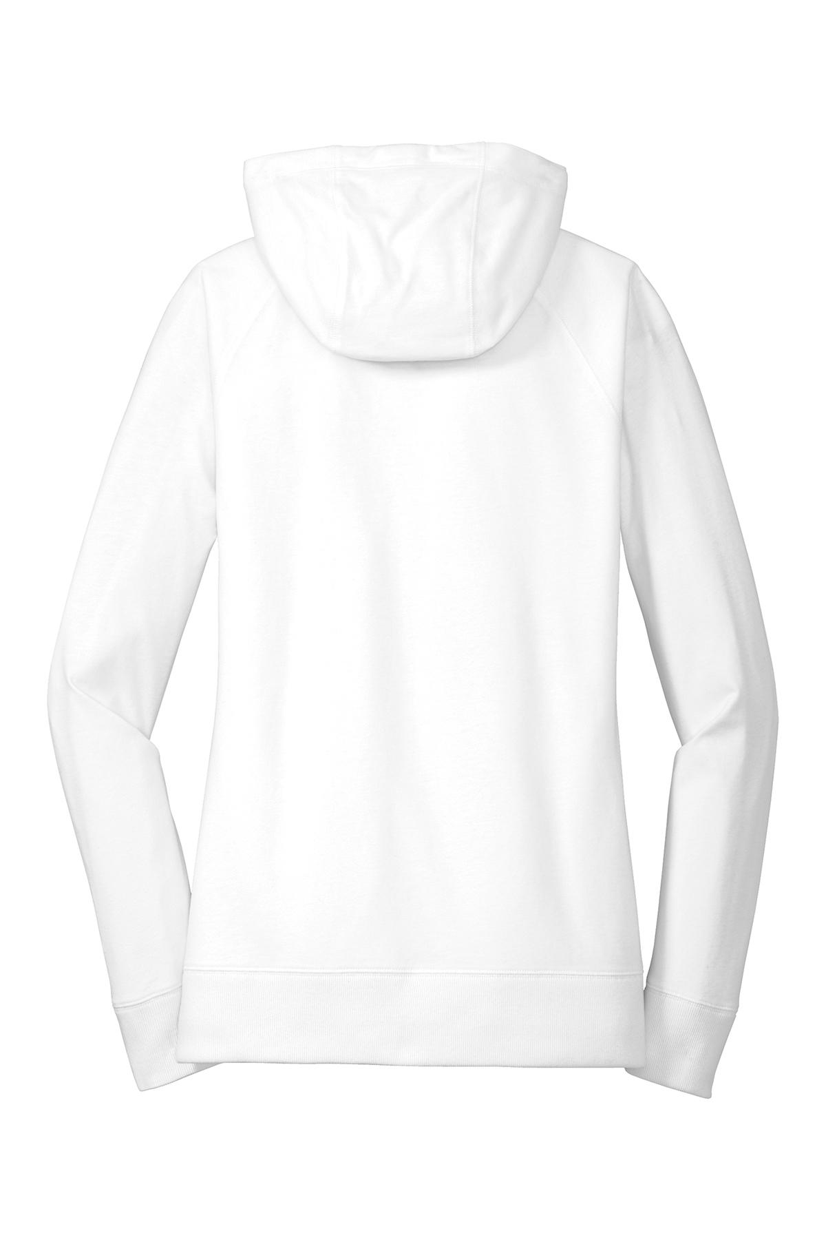 a9159ece01c New Era® Ladies Sueded Cotton Blend Full-Zip Hoodie