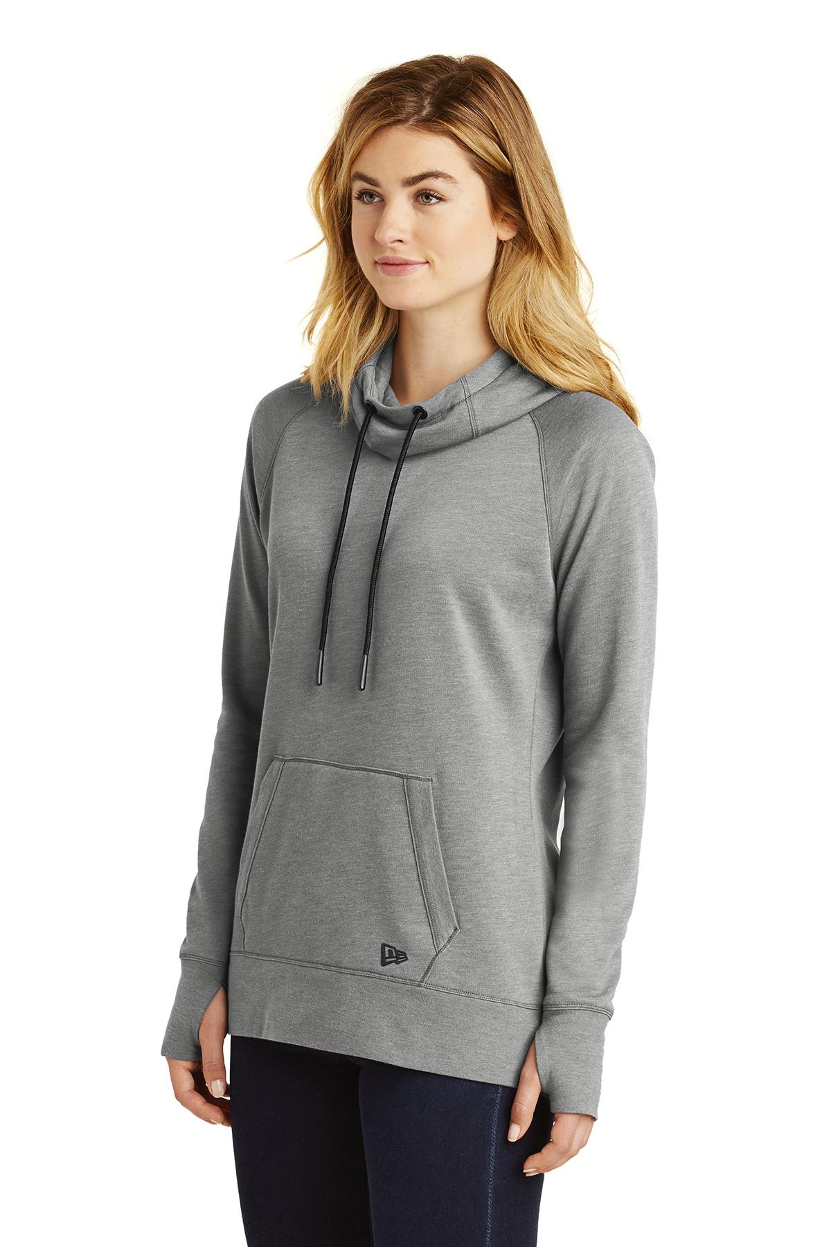 ae1fc6ba259 New Era® Ladies Tri-Blend Fleece Pullover Hoodie