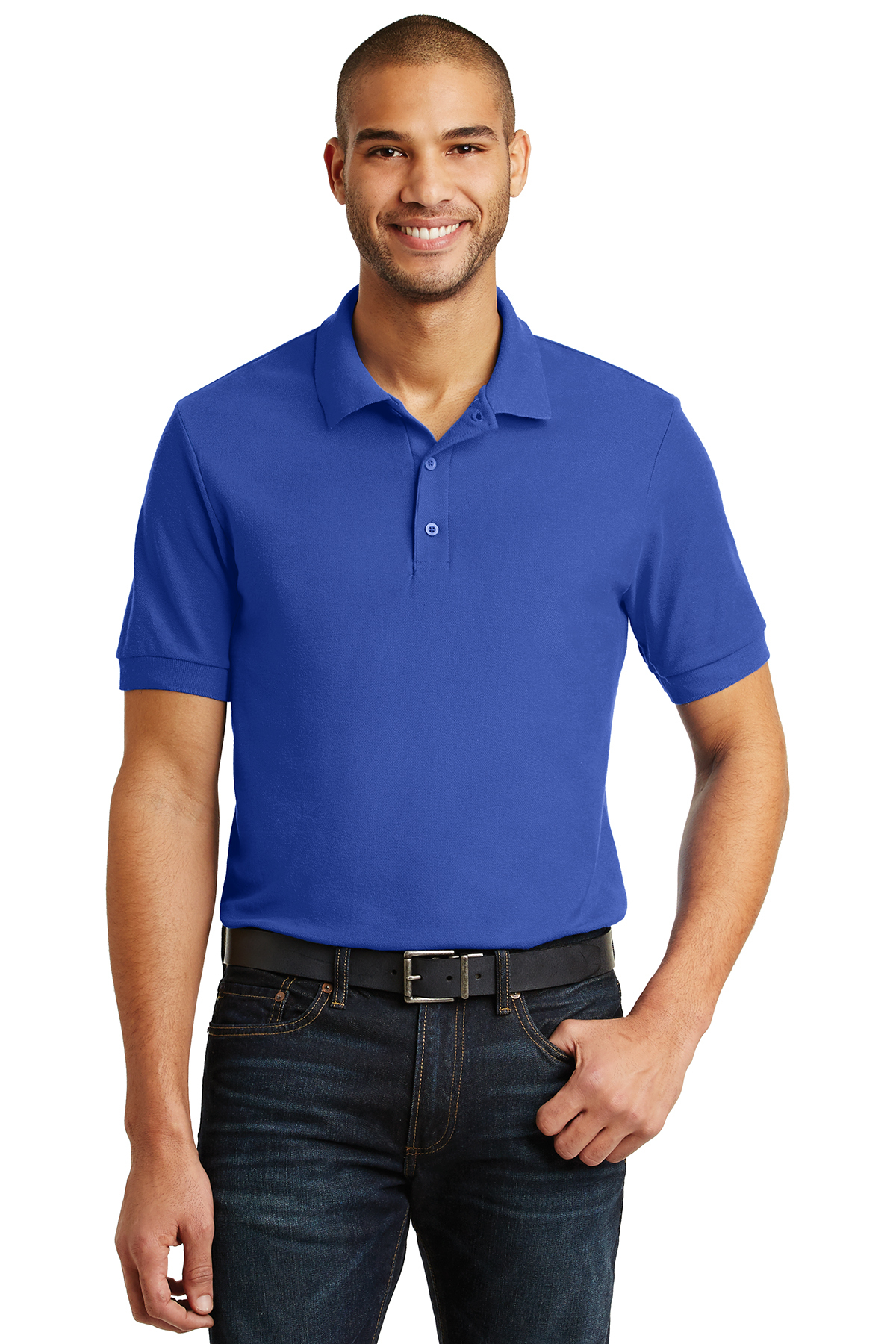 c5df432372 Gildan® 6.6-Ounce 100% Double Pique Cotton Sport Shirt | Easy ...