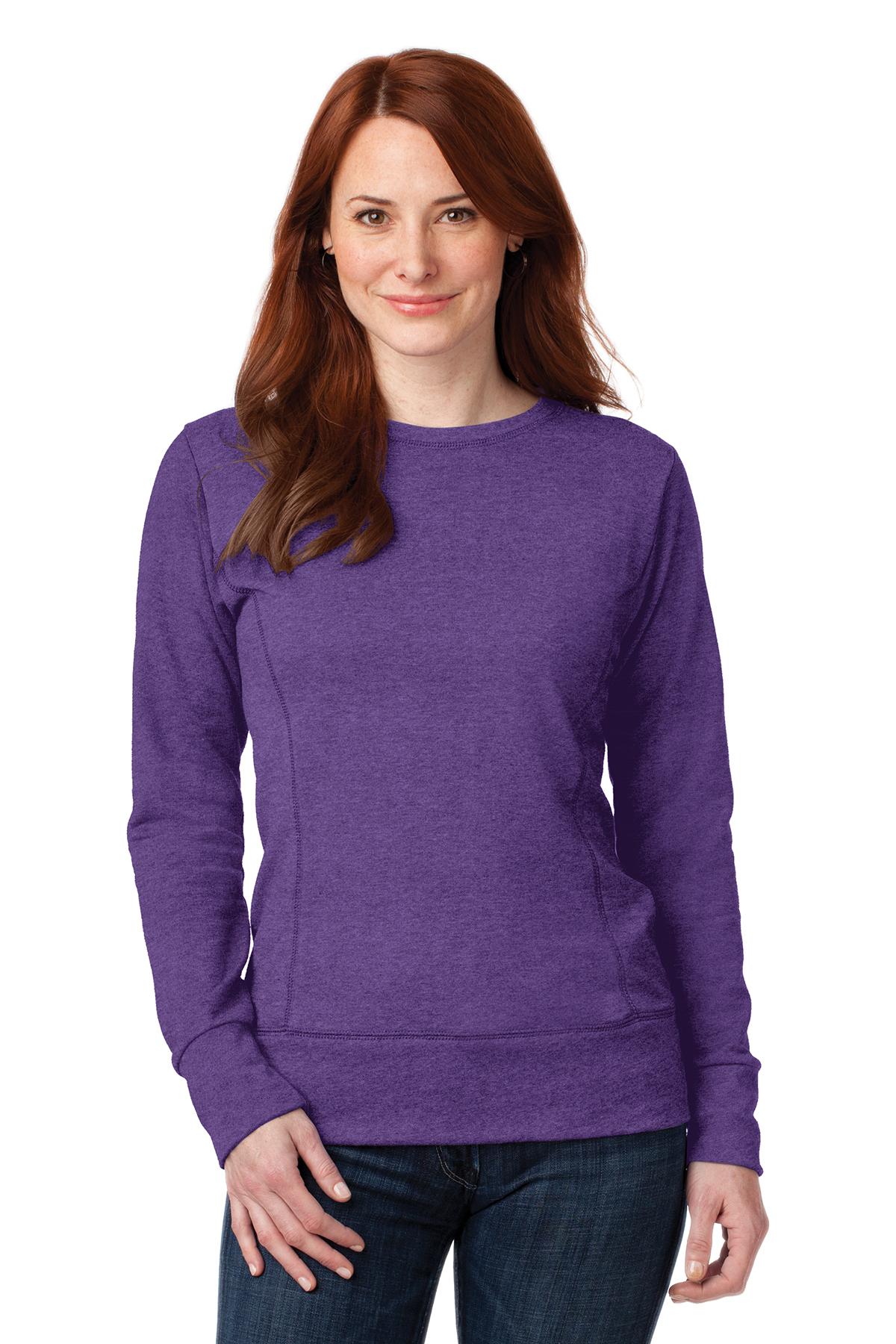 d7520f9e9fac Anvil® Ladies French Terry Crewneck Sweatshirt