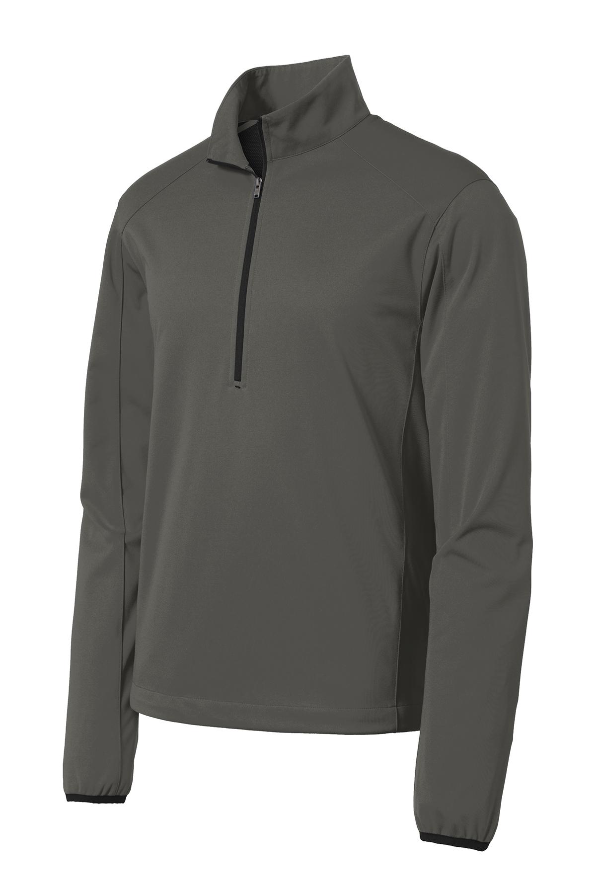Port Authority Active 1//2-Zip Soft Shell Jacket-J716-M