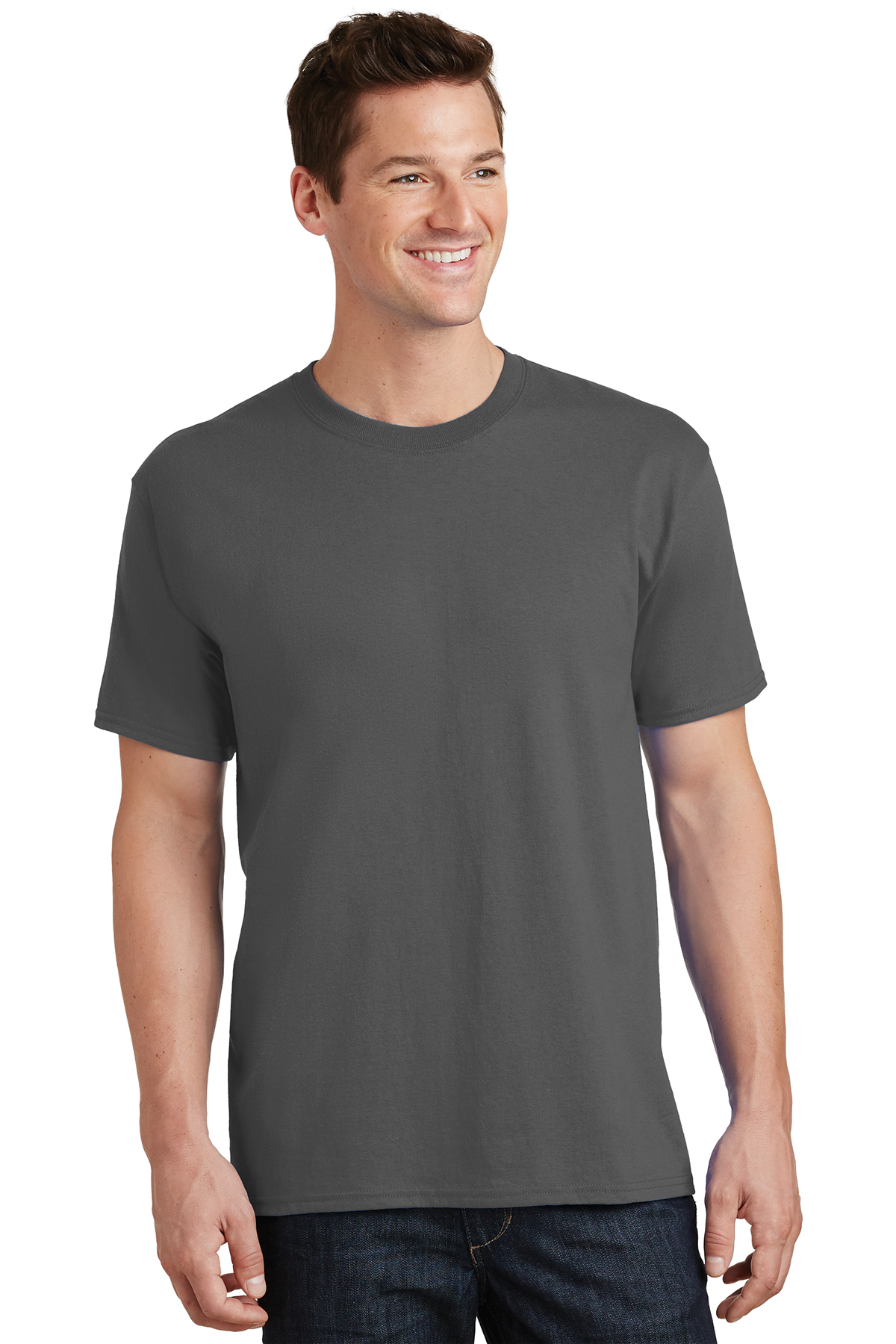 6c5eb5eca0f0 Port & Company® - Core Cotton Tee | 5-5.6 100% Cotton | T-Shirts | Company  Casuals