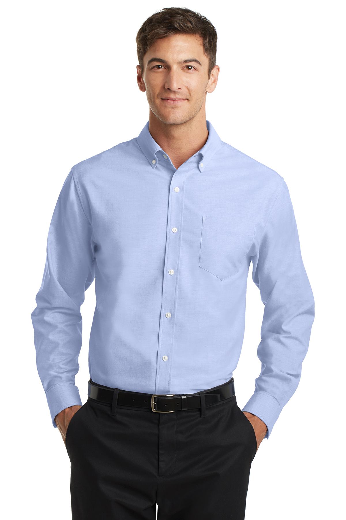 7603d10397b071 Port Authority® SuperPro™ Oxford Shirt | Oxfords | Woven Shirts ...