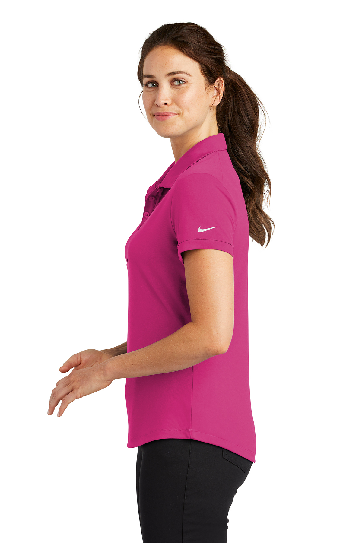 10eea90c ... Ladies/Women; Nike Ladies Dri-FIT Players Modern Fit Polo. A maximum of  8 logos have been uploaded. Please remove a logo from My Logos to continue