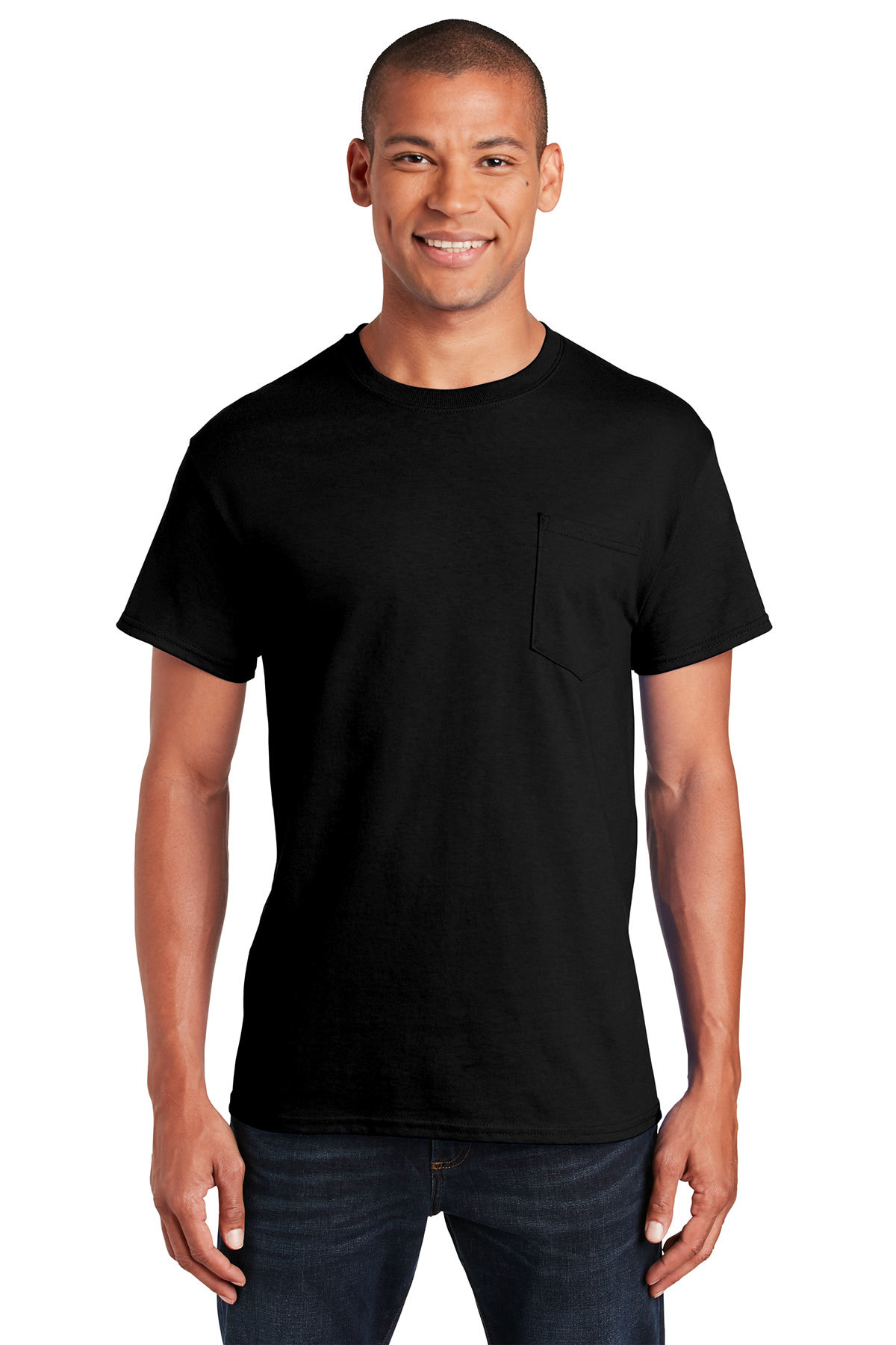 370035758b0 Gildan® - Ultra Cotton® 100% Cotton T-Shirt with Pocket