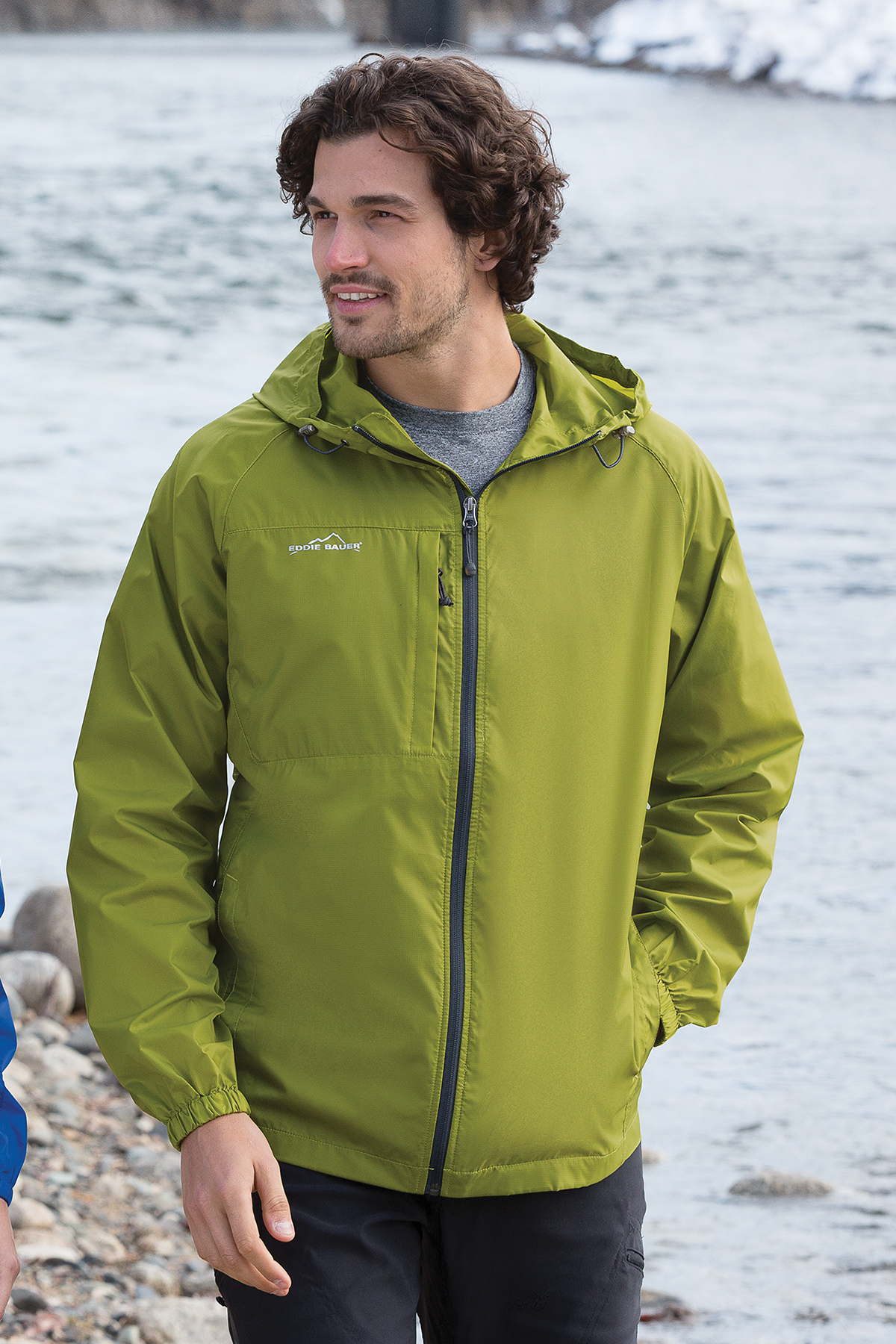 Ed Bauer Packable Wind Jacket Athletic Warm Ups