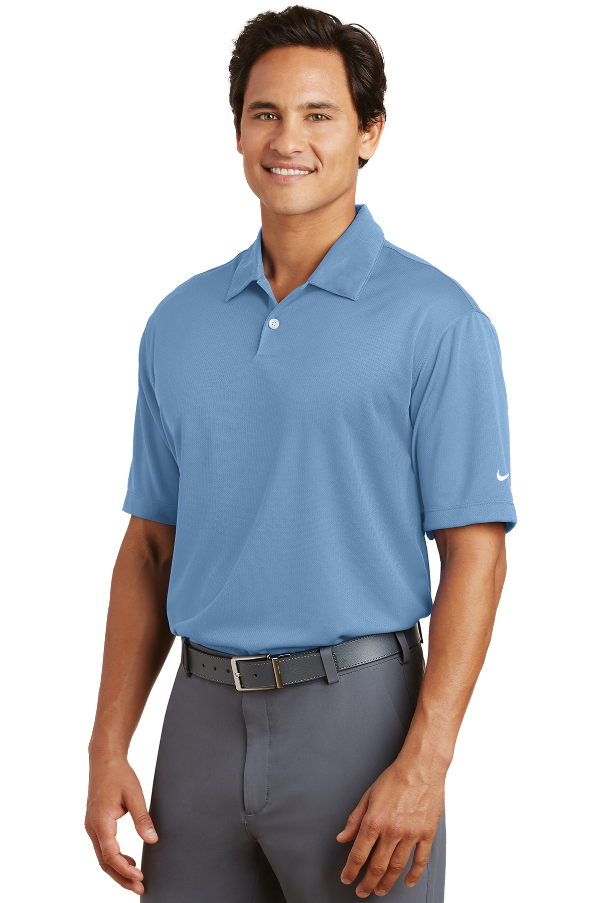 f5d45b93 ... Nike Dri-FIT Pebble Texture Polo. A maximum of 8 logos have been  uploaded. Please remove a logo from My Logos to continue