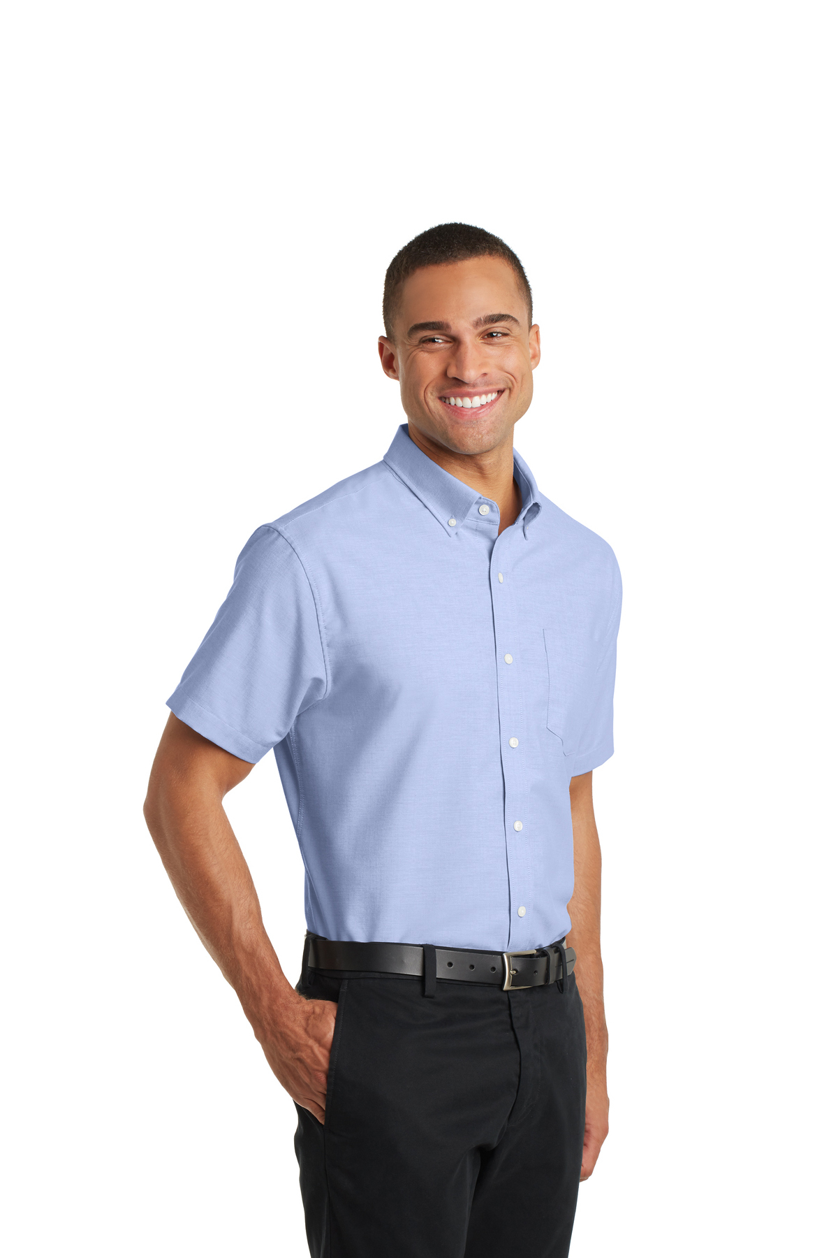 bb15b37de61e10 ... Port Authority® Short Sleeve SuperPro™ Oxford Shirt. A maximum of 8  logos have been uploaded. Please remove a logo from My Logos to continue