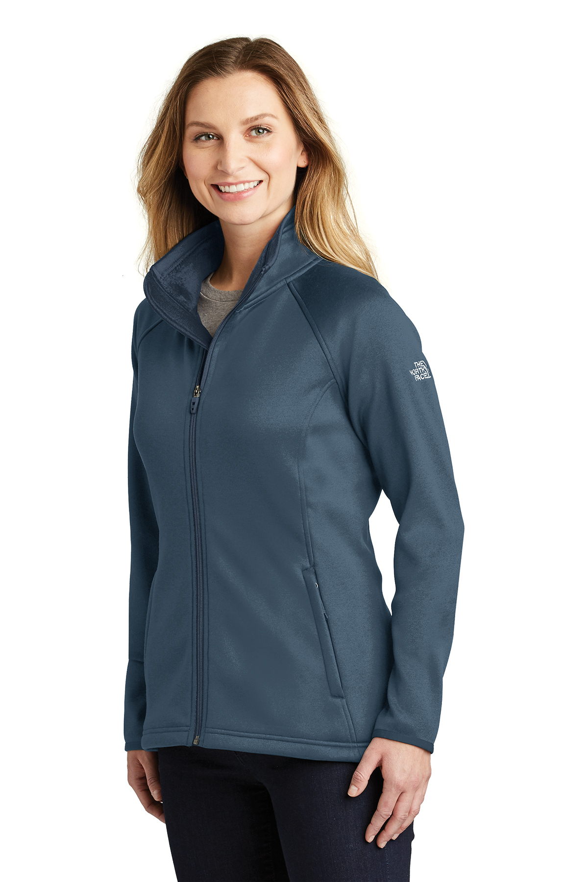 5aabb57b8640 The North Face® Ladies Canyon Flats Stretch Fleece Jacket ...