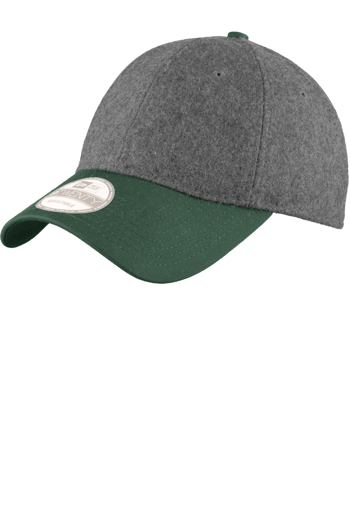 New Era Melton Wool Heather Cap. NE206