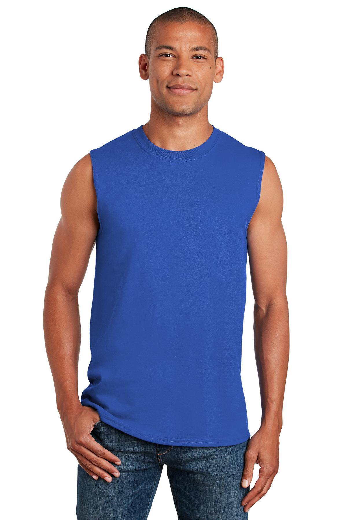 Gildan 6.1 oz Ultra Cotton Sleeveless T-Shirt 2700