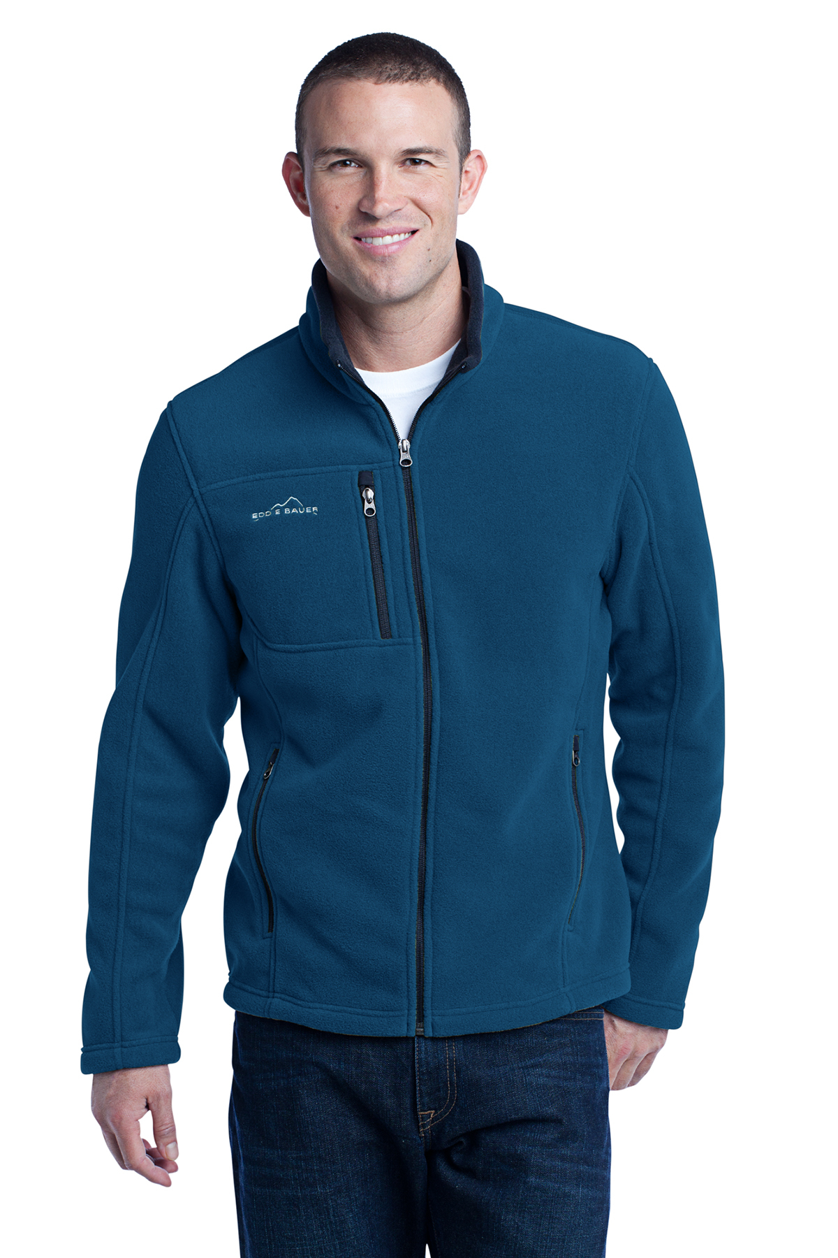 Eddie Bauer - Full-Zip Fleece Jacket. EB200