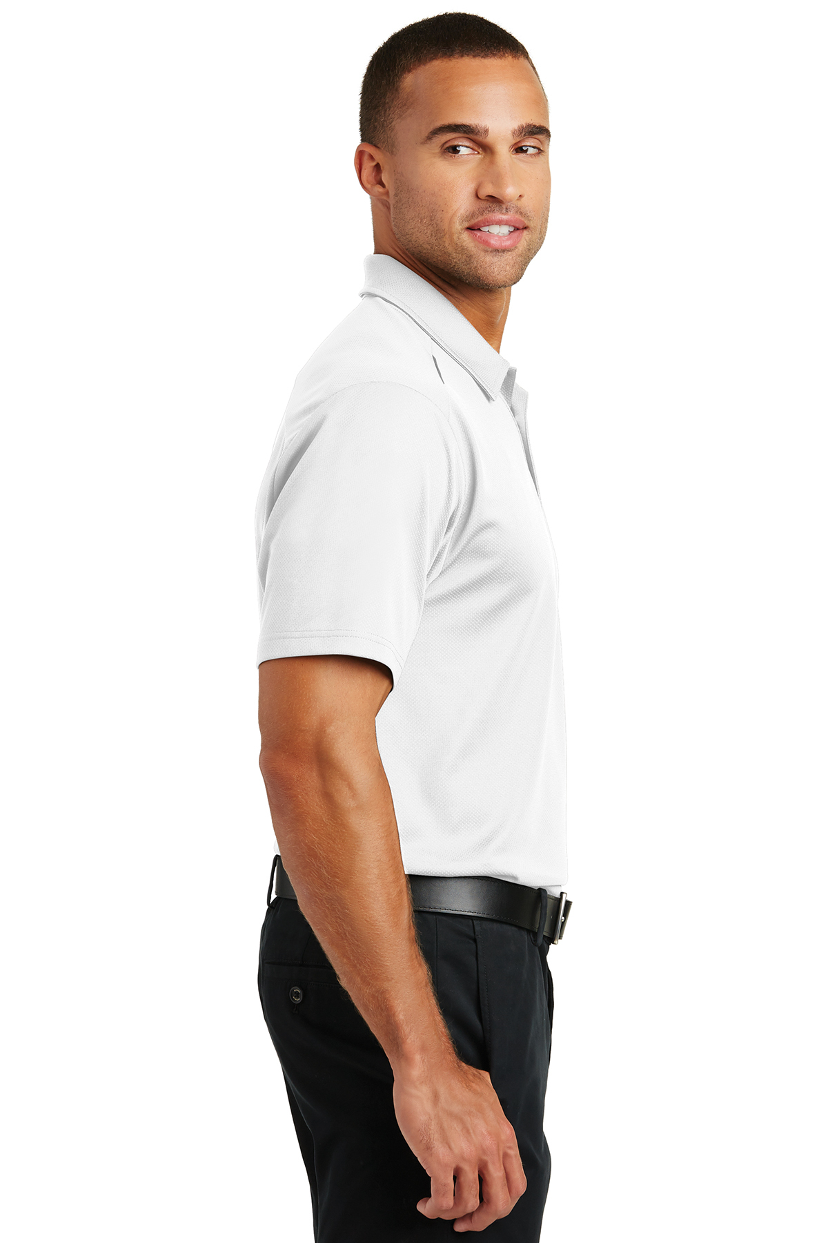 K580 Port Authority Pinpoint Mesh Polo