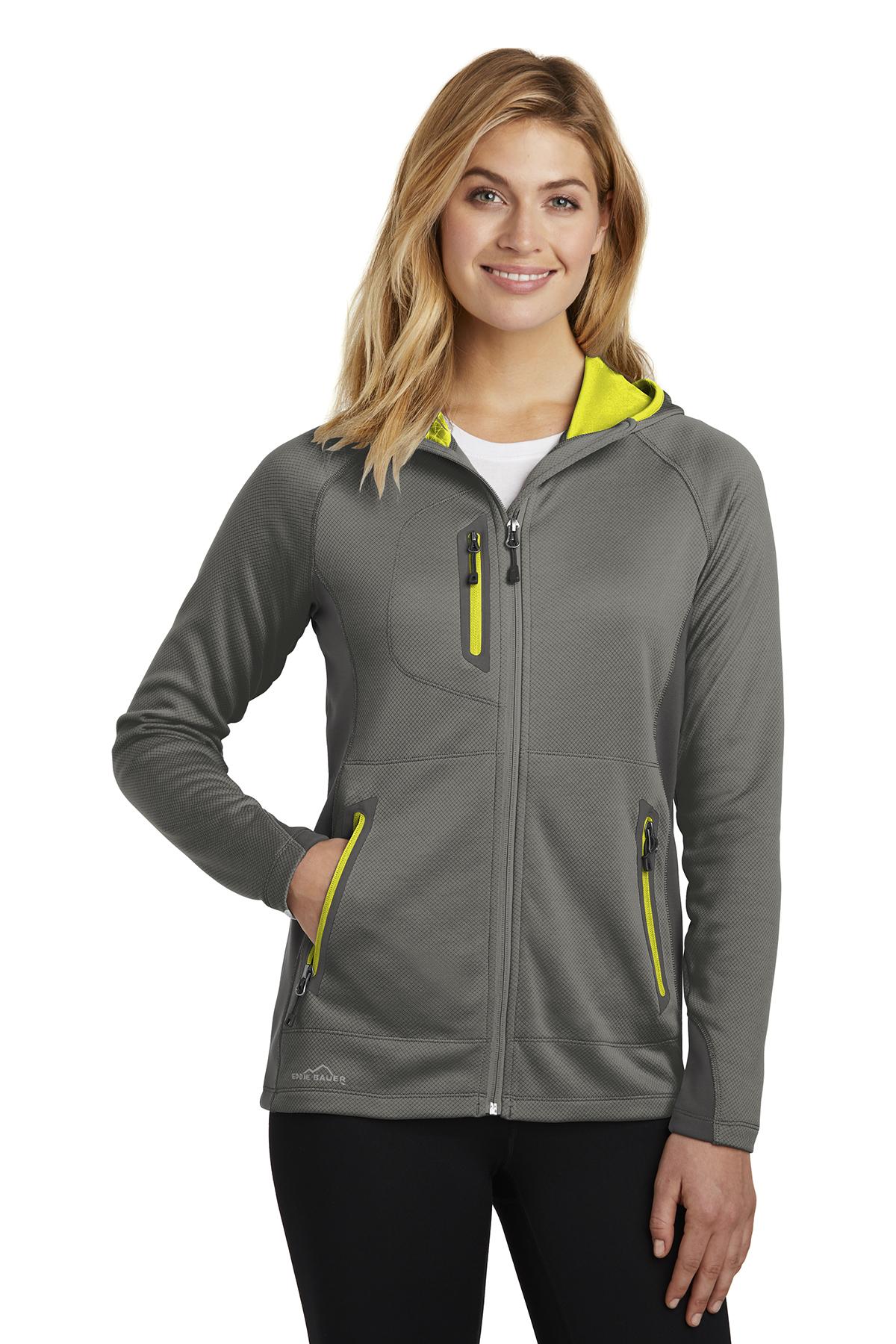 bcff74209 Eddie Bauer ® Ladies Sport Hooded Full-Zip Fleece Jacket ...
