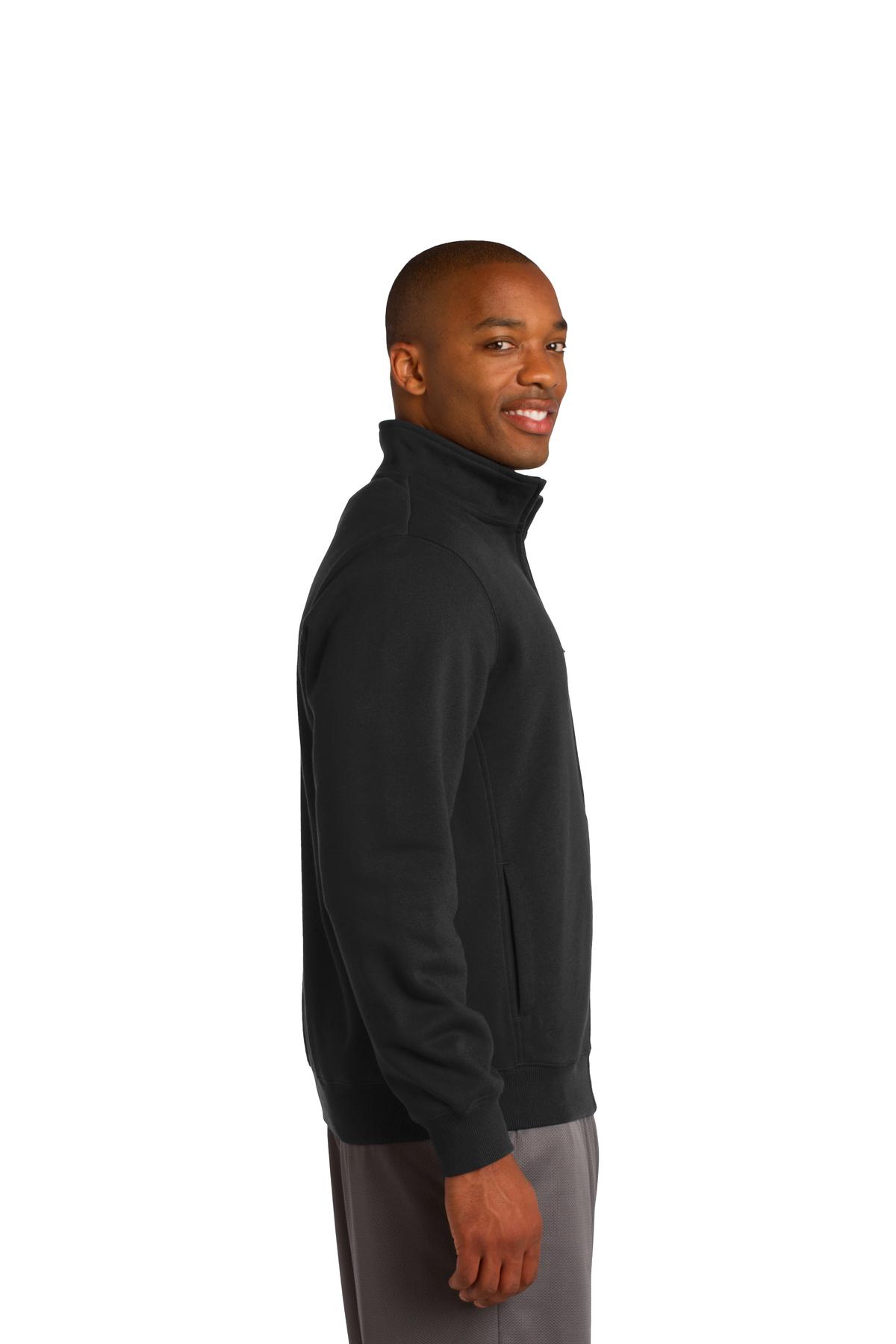 Vintage Heather Sport-Tek Full-Zip Hooded Sweatshirt X-Small