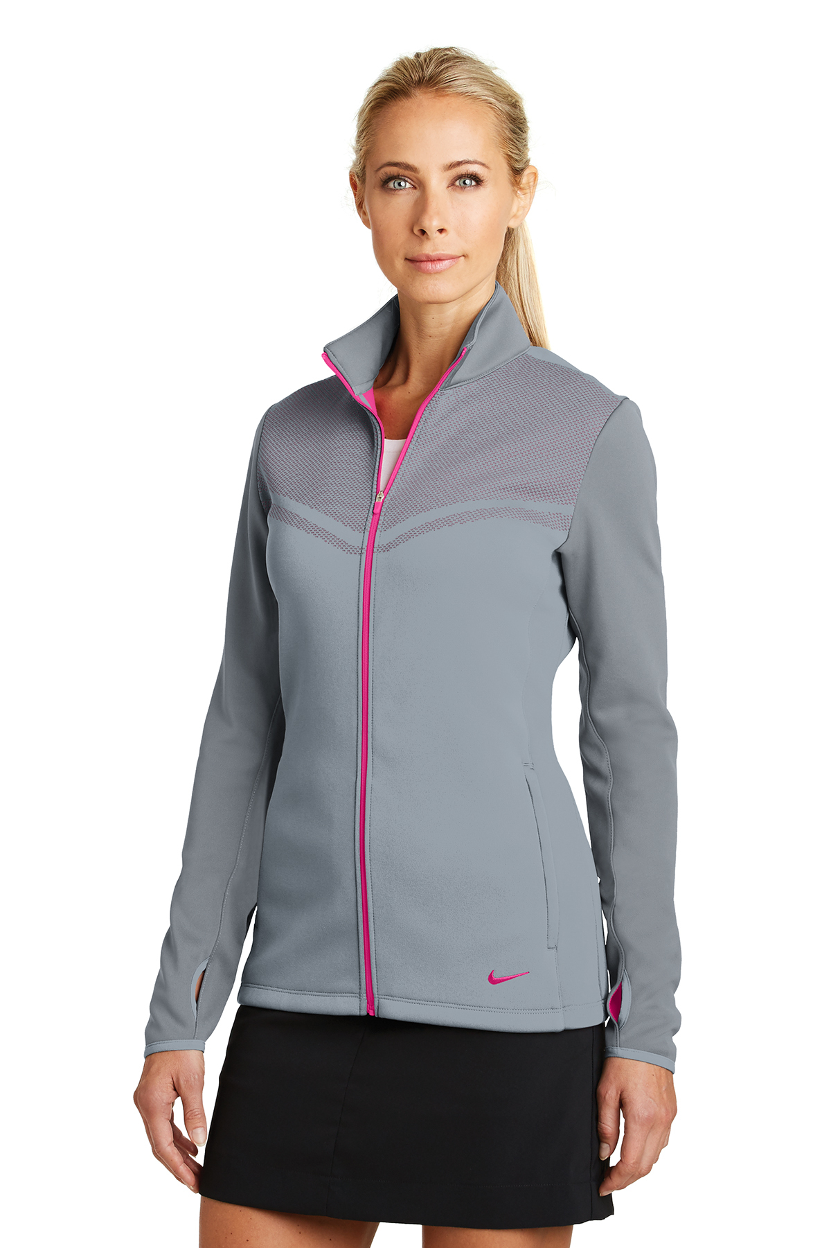 03380cd8ec3e ... Nike Ladies Therma-FIT Hypervis Full-Zip Jacket. A maximum of 8 logos  have been uploaded. Please remove a logo from My Logos to continue