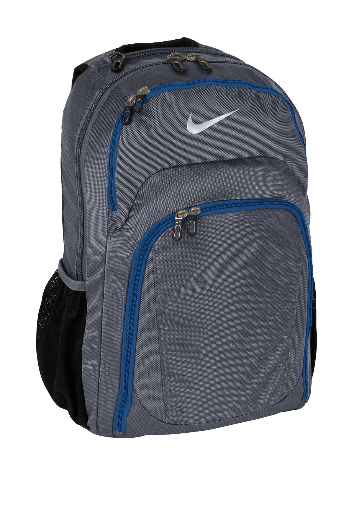 nike performance backpack backpacks bags sanmar rh sanmar com Library Book Bag Clip Art Lunch Box Clip Art