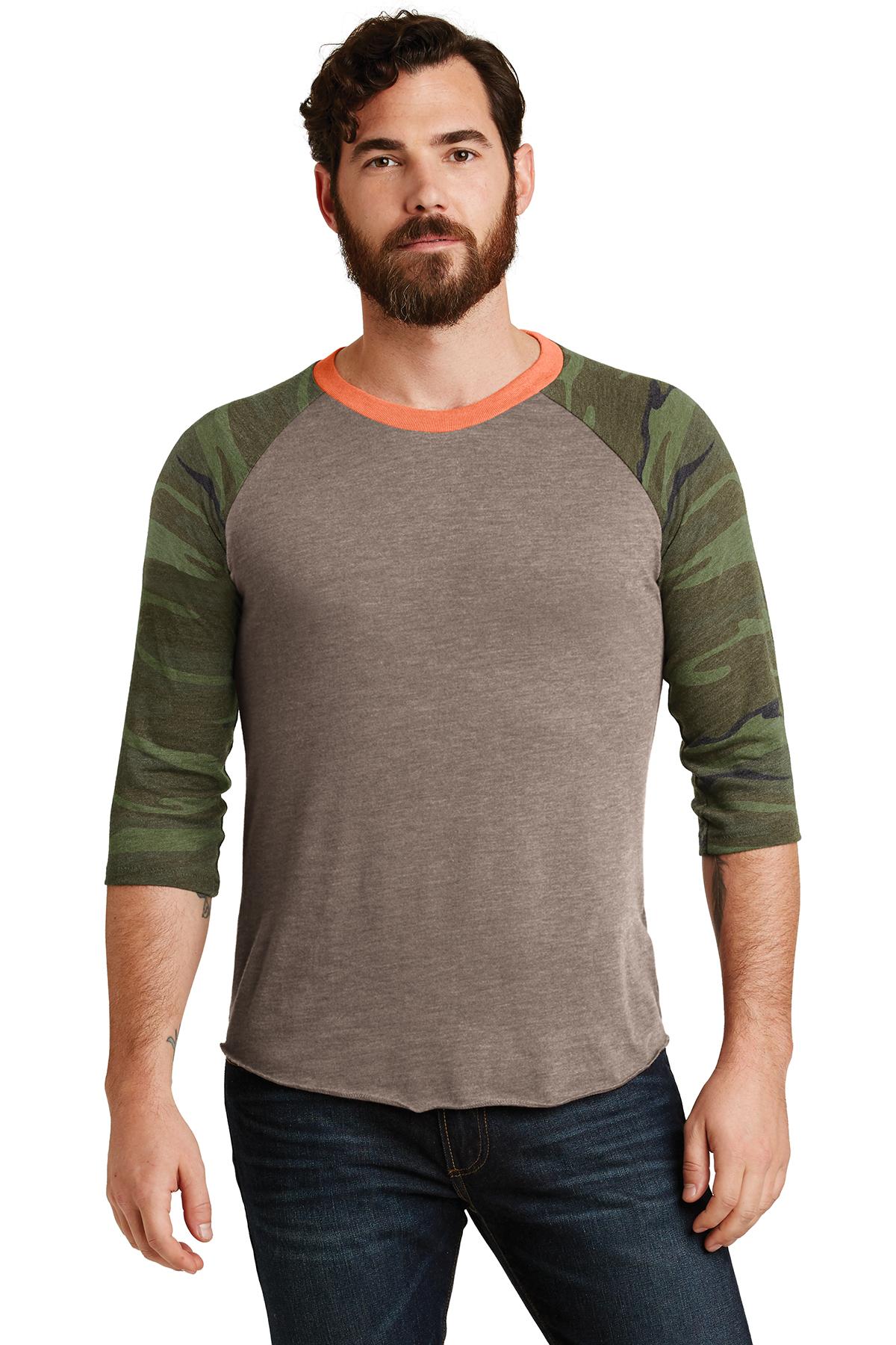 0ae97517 Alternative Eco-Jersey™ Baseball T-Shirt | Fashion | T-Shirts | SanMar