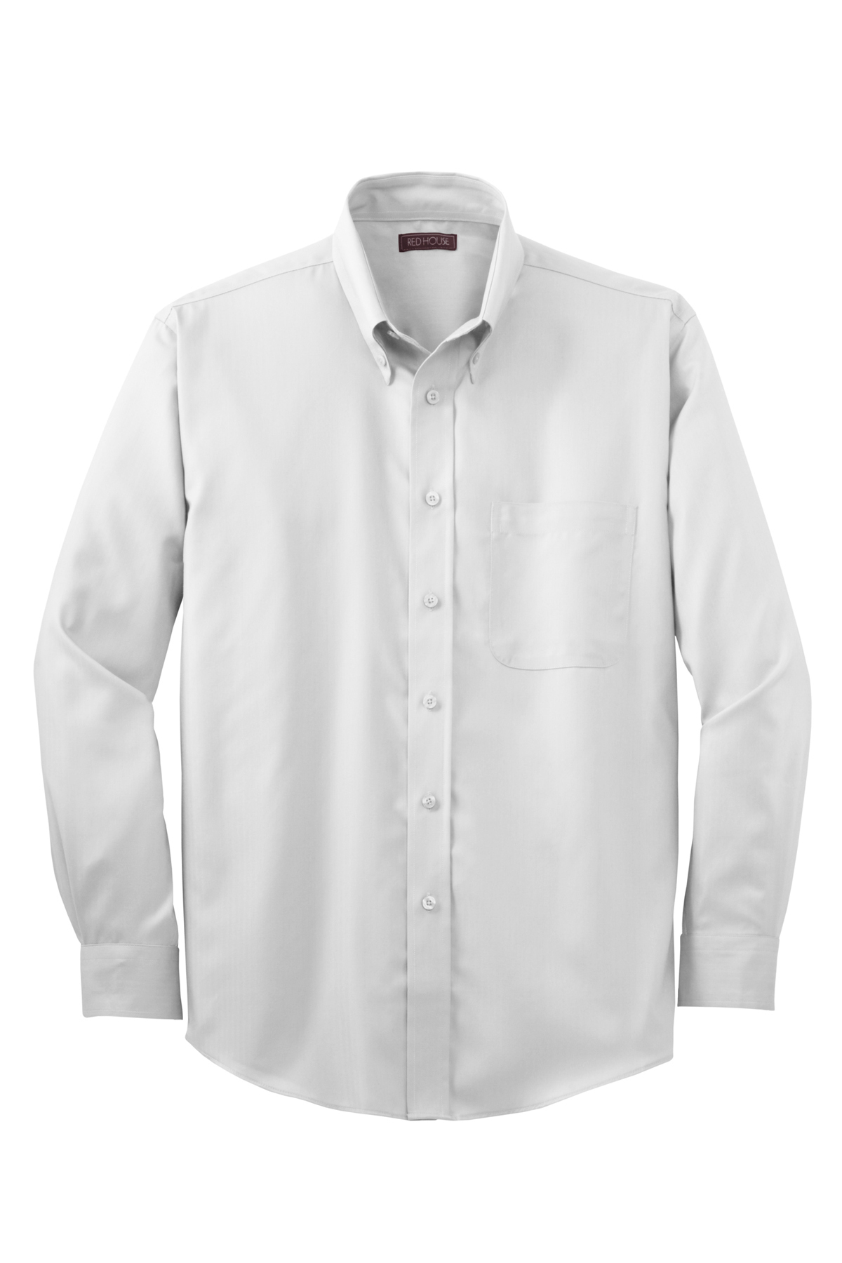4741bb7b Red House® - Herringbone Non-Iron Button-Down Shirt   Cotton ...