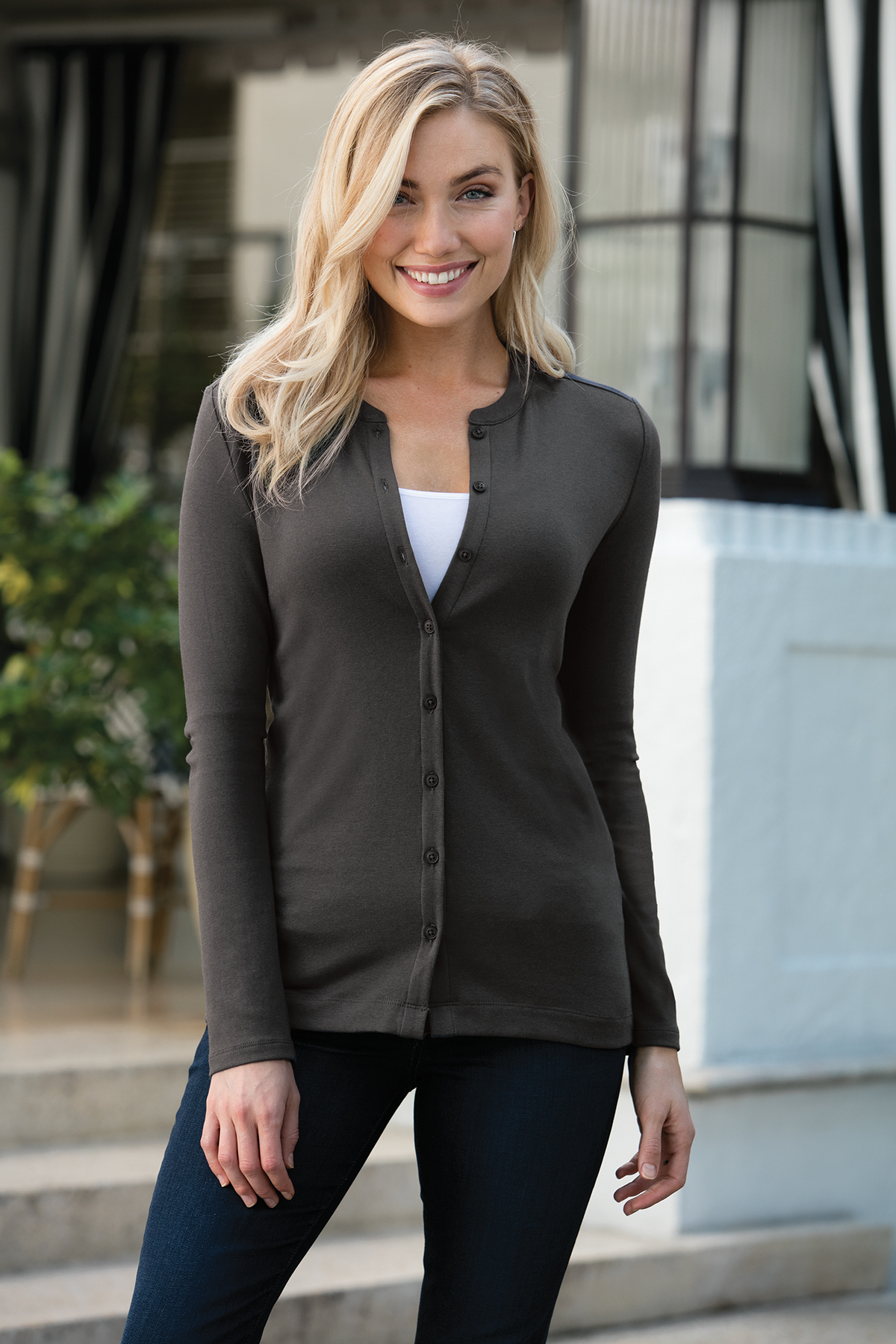 d6b375f2e28c ... Port Authority® Ladies Concept Stretch Button-Front Cardigan. A maximum  of 8 logos have been uploaded. Please remove a logo from My Logos to  continue