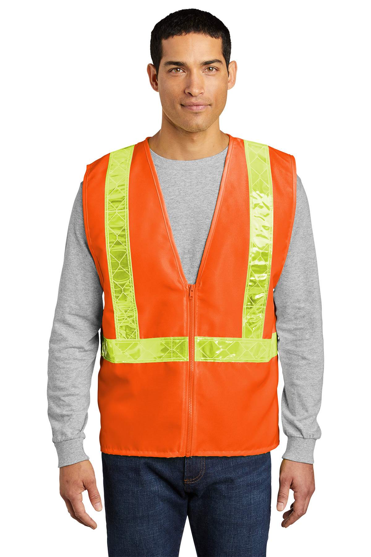 port authority high visibility safety apparel vest
