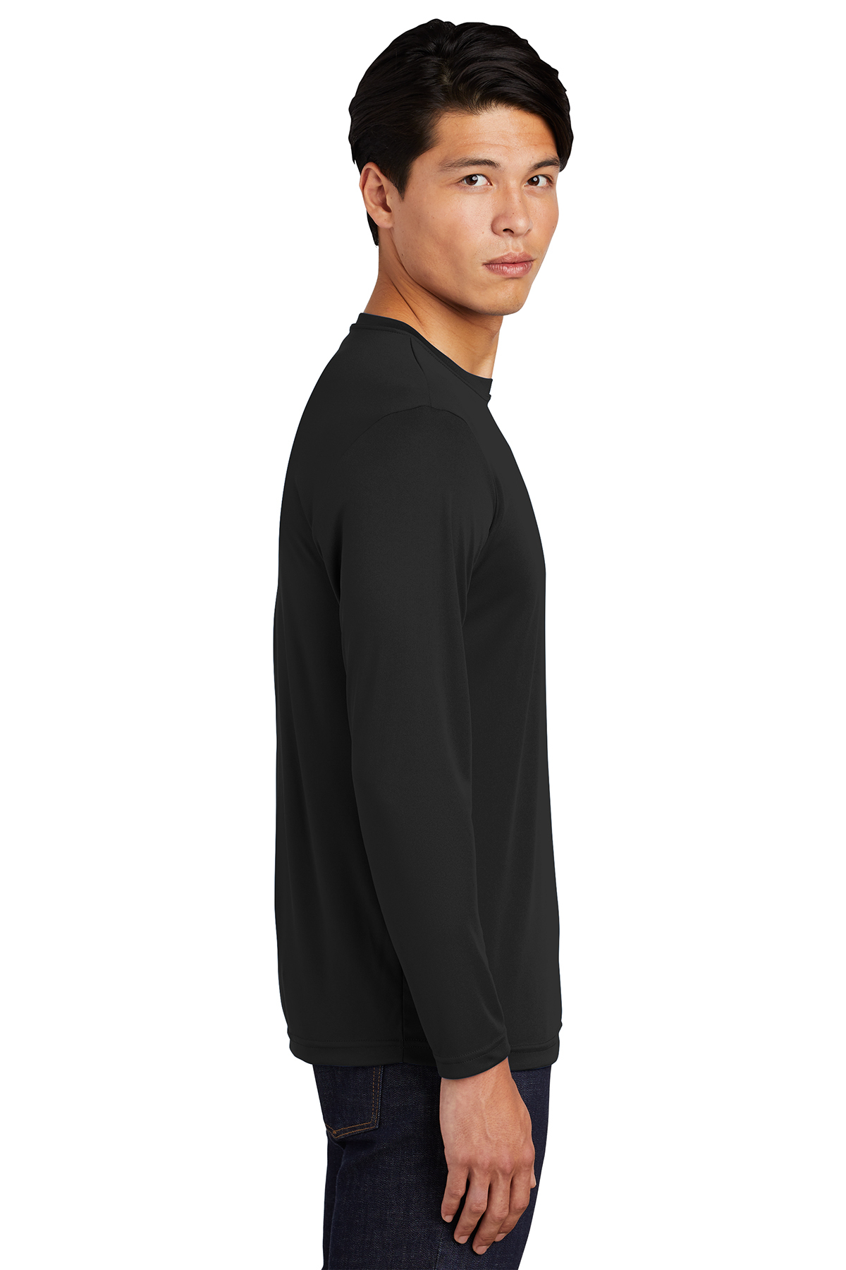 Sport Tek Long Sleeve Posicharge Competitor Tee Performance T Shirts Sport Tek St350ls the competitor tee 153 lets you take on your opponents in maximum comfort! sport tek long sleeve posicharge competitor tee performance t shirts sport tek