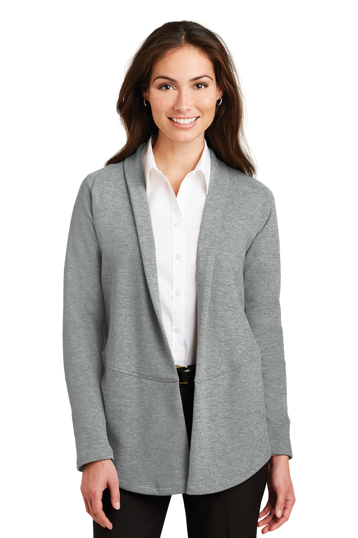 67836d168 Port Authority® Ladies Interlock Cardigan   Sweaters   Polos/Knits ...