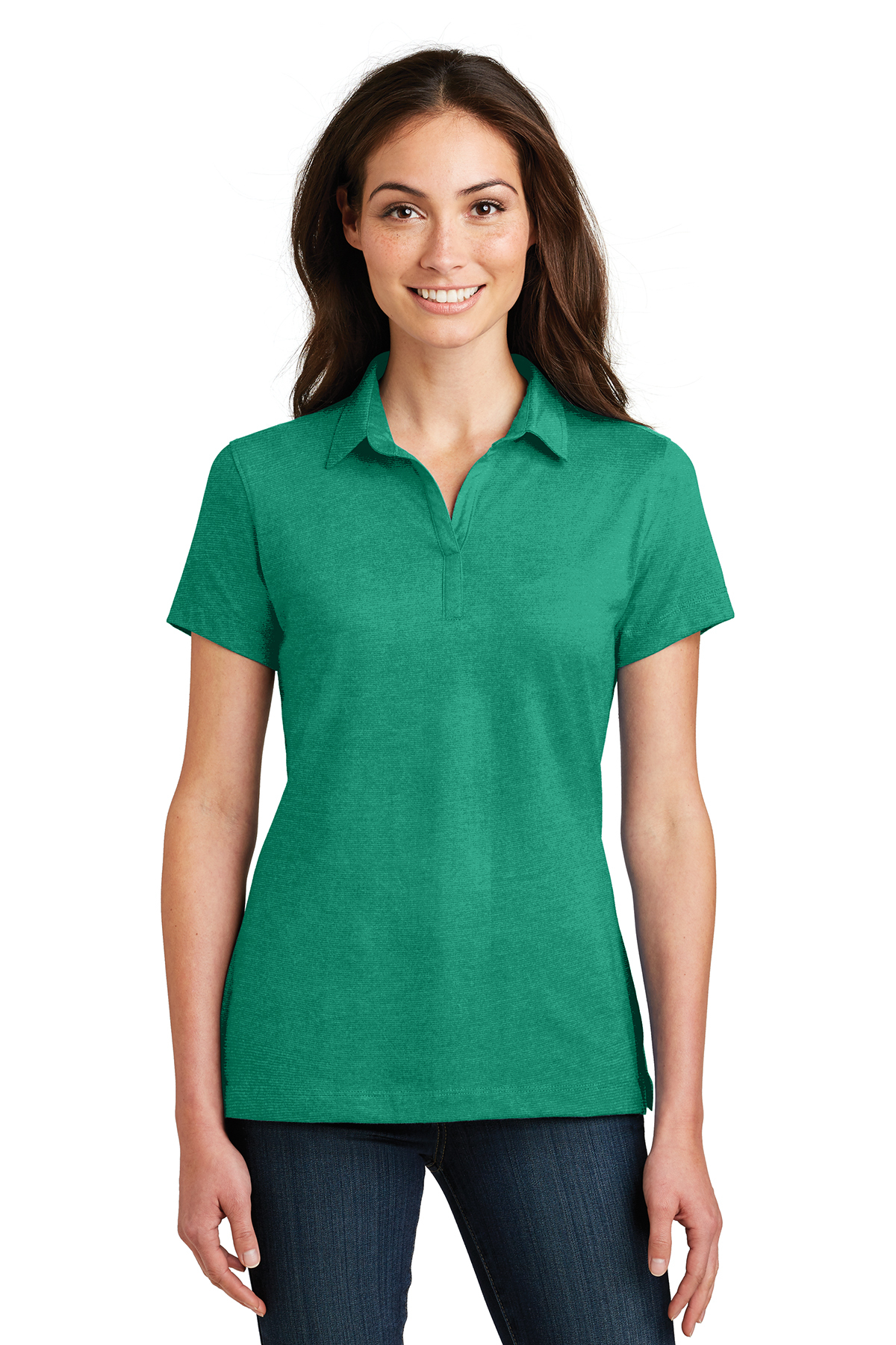 ccce3424e45 Port Authority® Ladies Meridian Cotton Blend Polo | Easy Care | Polos ...