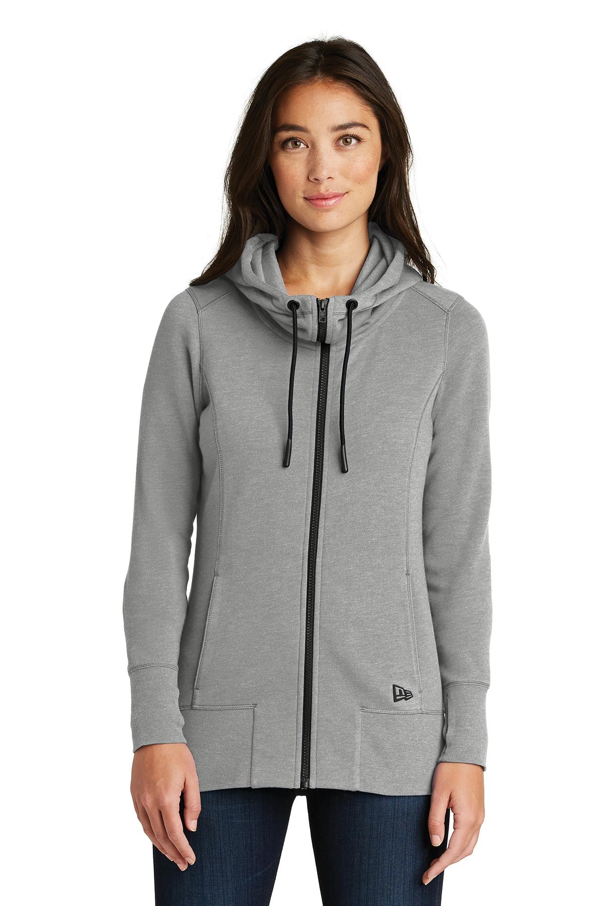 Sweatshirts Blend Ladies New Tri Zip Era® Hoodie Fleece Full ROw8OF7q