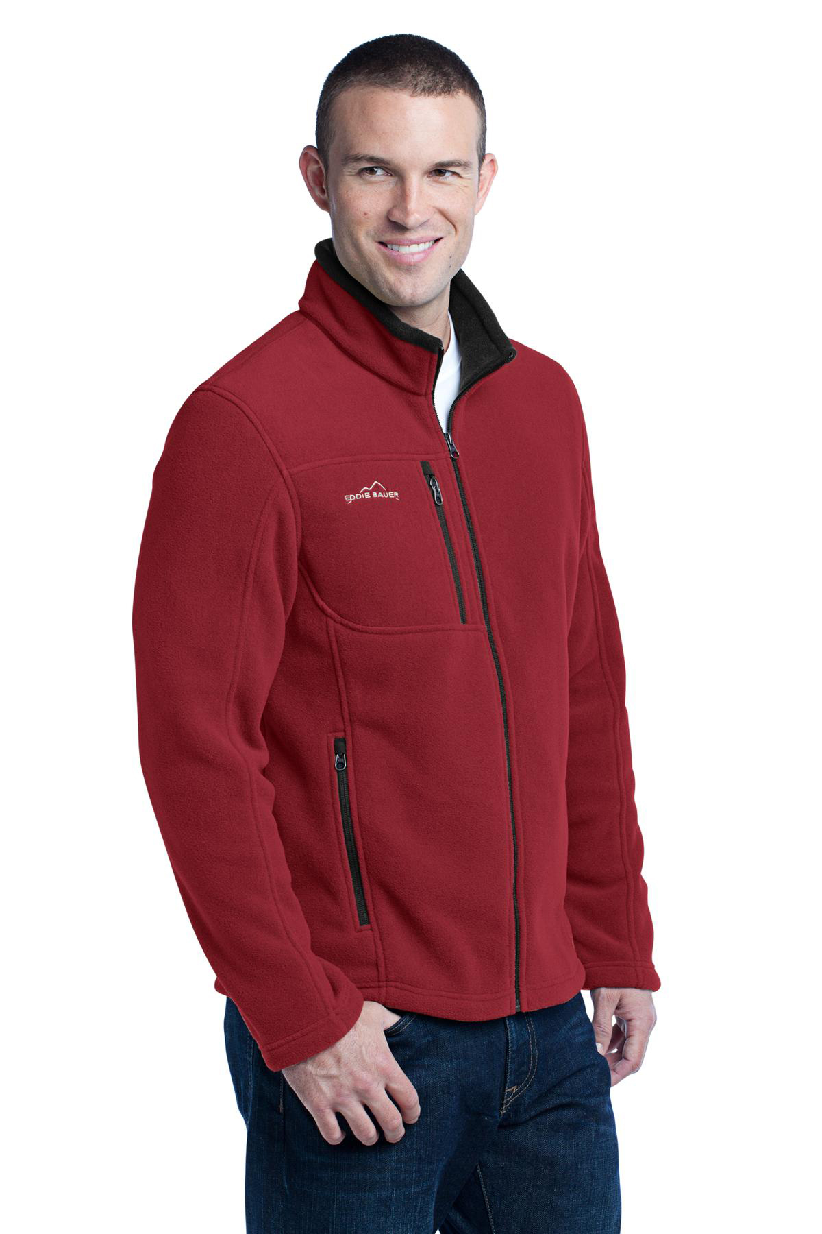 Ed Bauer Full Zip Fleece Jacket Performance