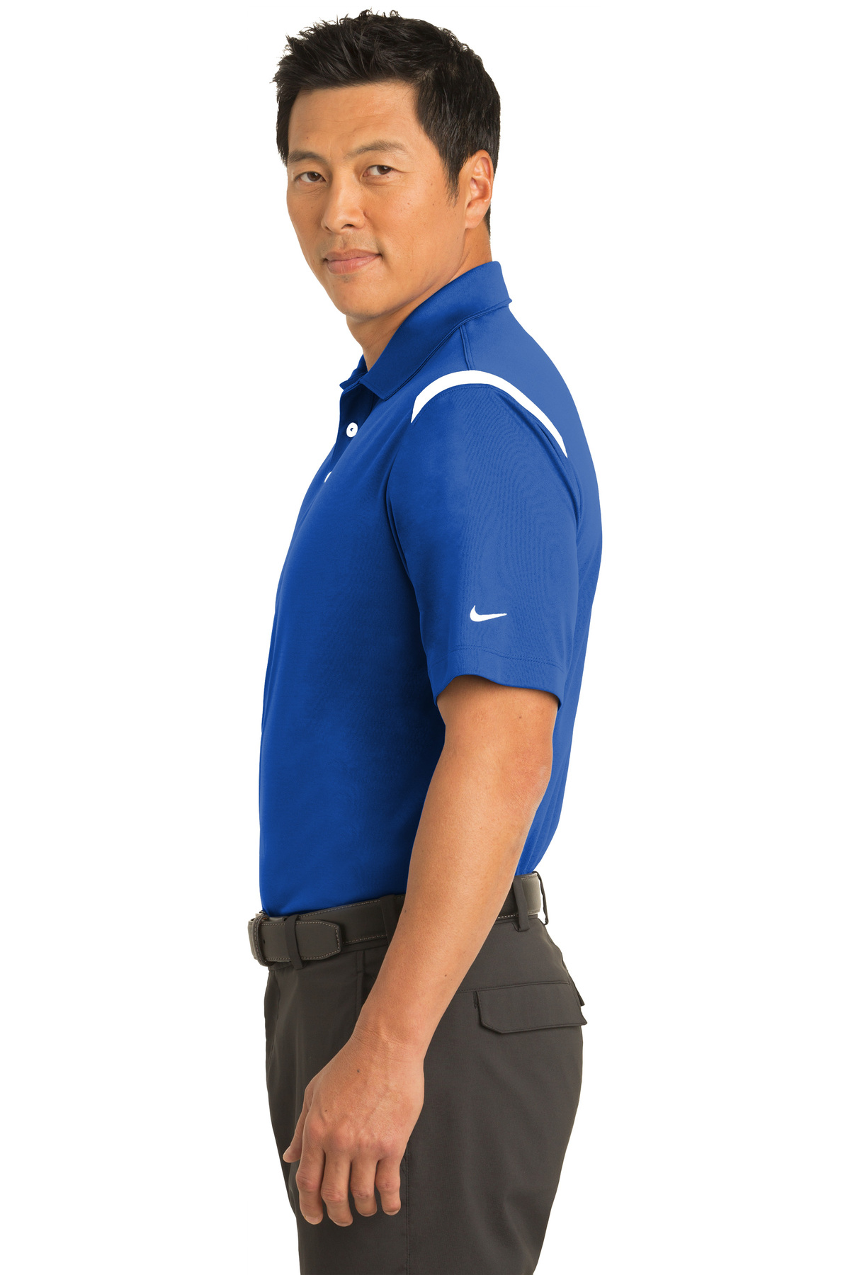 416603dd ... Nike Dri-FIT Shoulder Stripe Polo. A maximum of 8 logos have been  uploaded. Please remove a logo from My Logos to continue