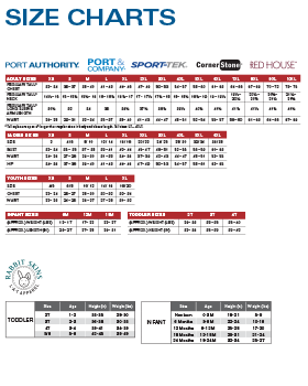 Size Charts Smbb19size Chart1 280x350 Png Port Authority