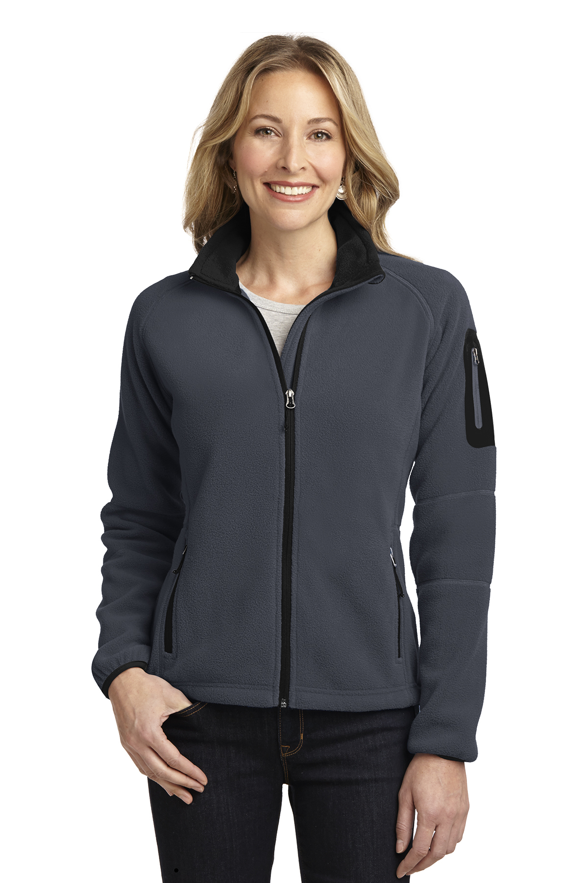 Ladies Enhanced Value Full-Zip Fleece
