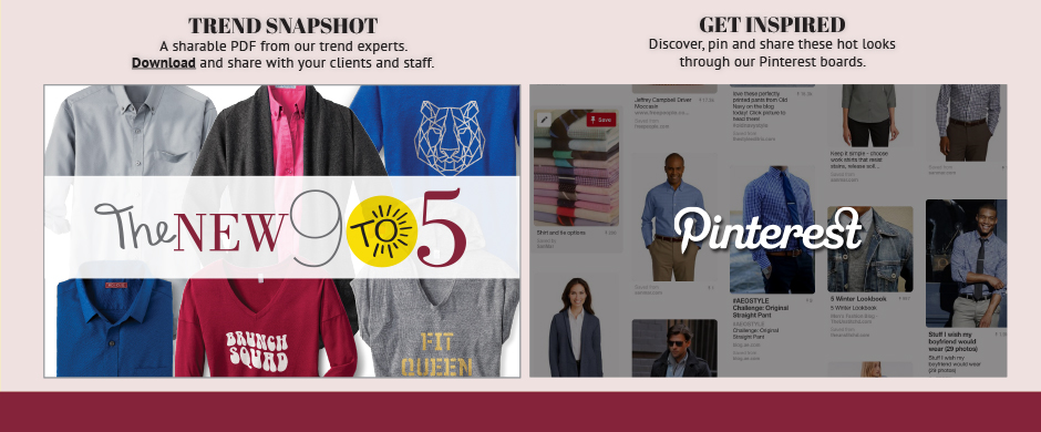 2016 Trend Snapshot and Pinterest Page