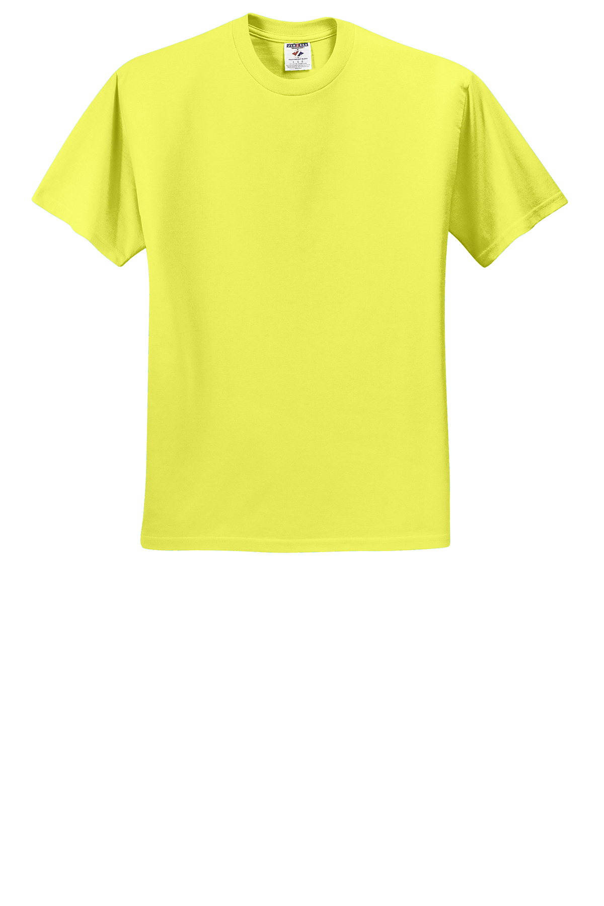 jerzees dri power active 50 50 cotton poly t shirt 50 50 blend