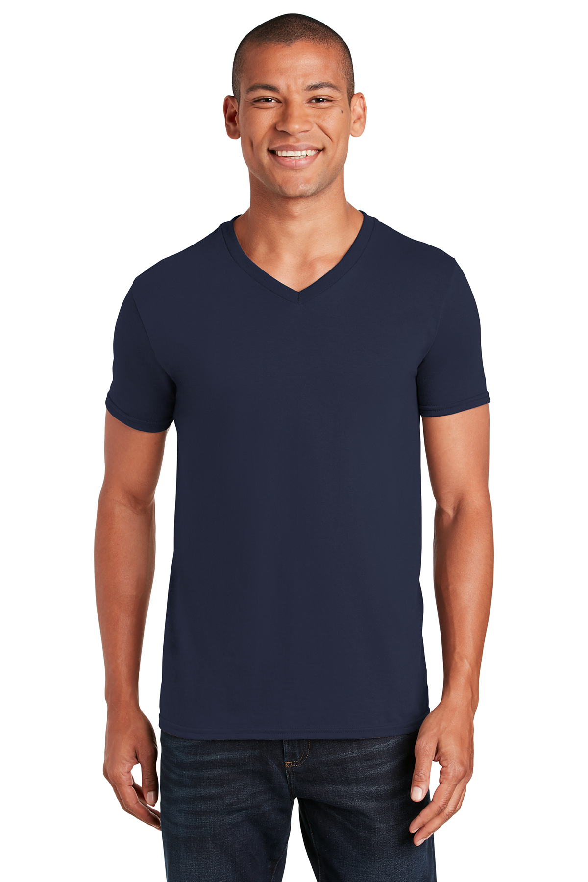 b46fc28a2 Gildan Softstyle® V-Neck T-Shirt | Ring Spun | T-Shirts | SanMar