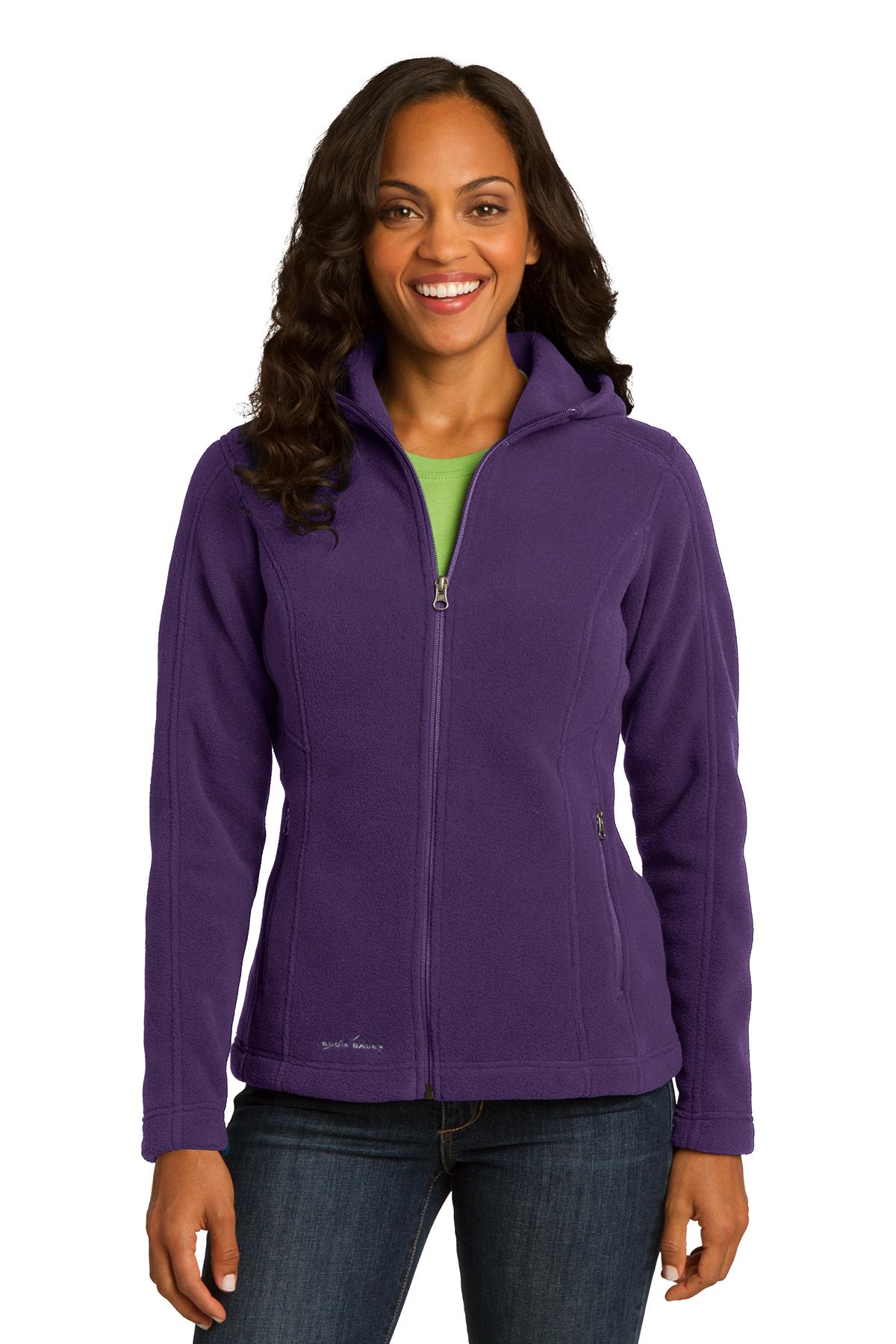 fc32f0d5be0 Eddie Bauer® Ladies Hooded Full-Zip Fleece Jacket | Ladies/Women ...
