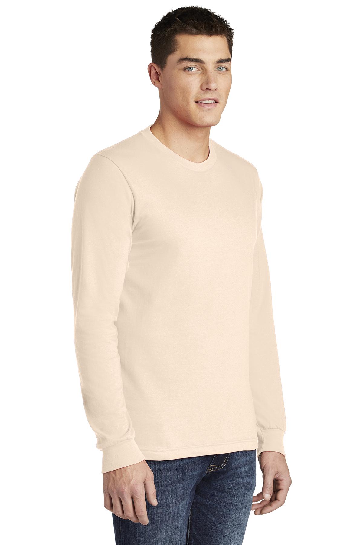 American Apparel ® Fine Jersey Long Sleeve T-Shirt  28377997484f
