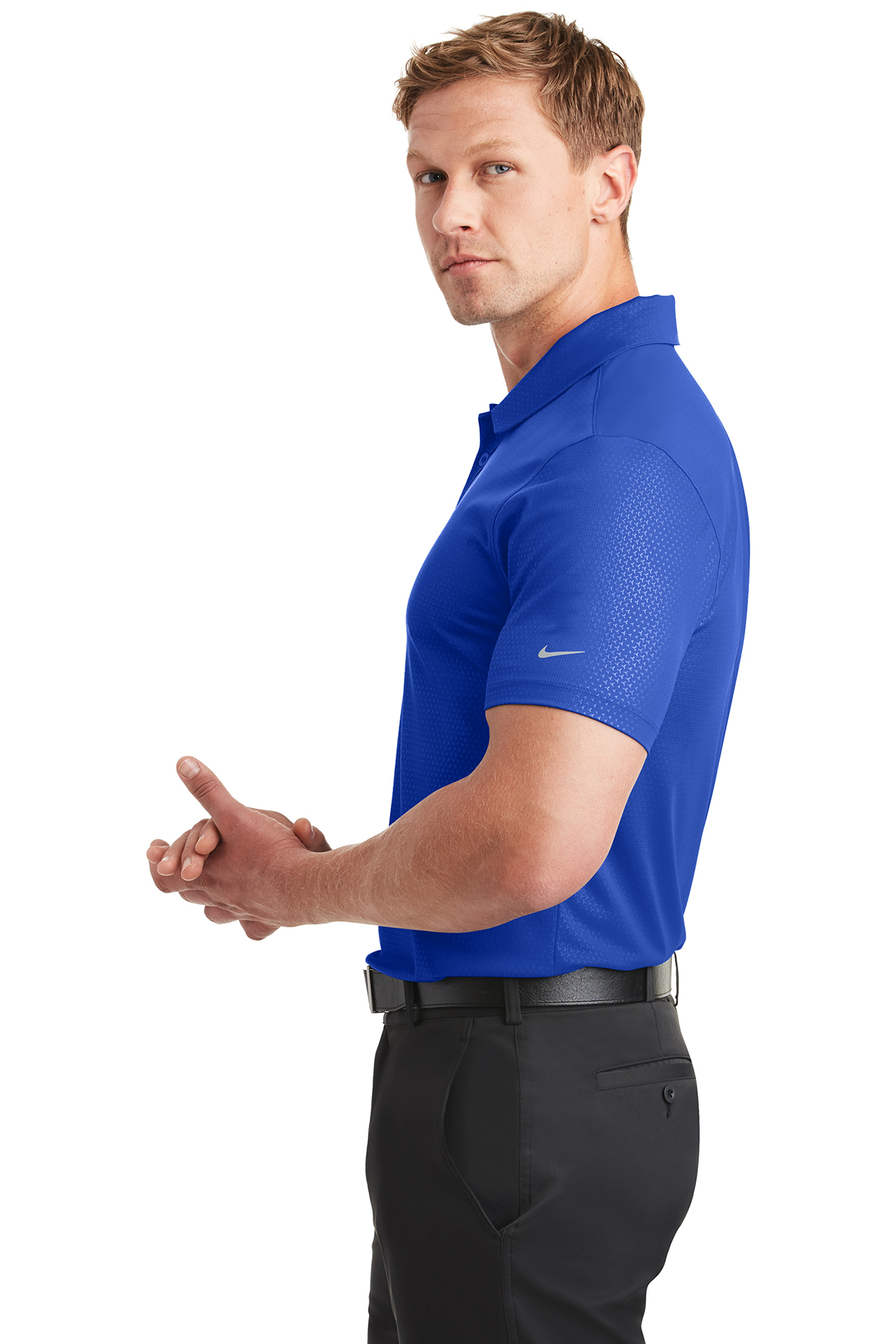 d25b9778 ... Nike Dri-FIT Embossed Tri-Blade Polo. A maximum of 8 logos have been  uploaded. Please remove a logo from My Logos to continue