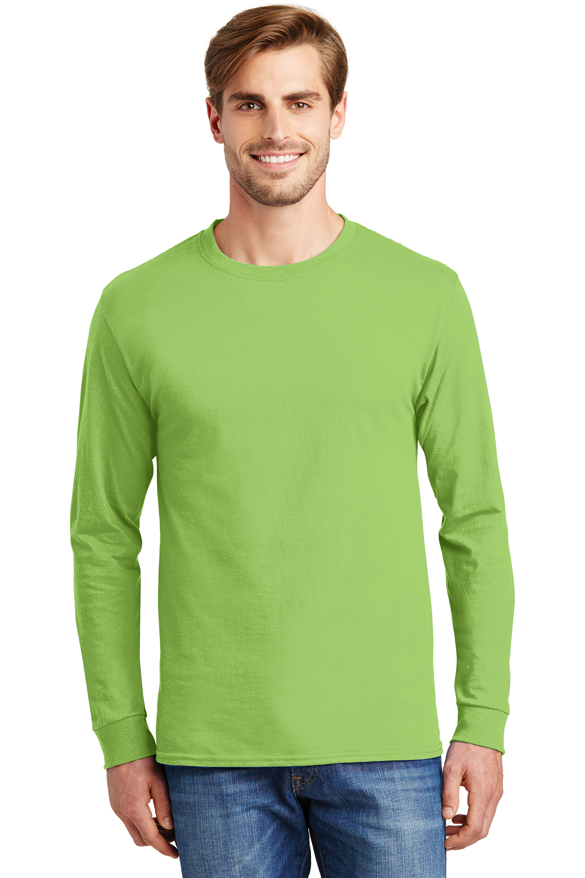 168a6af2ef0 Hanes® - Tagless® 100% Cotton Long Sleeve T-Shirt