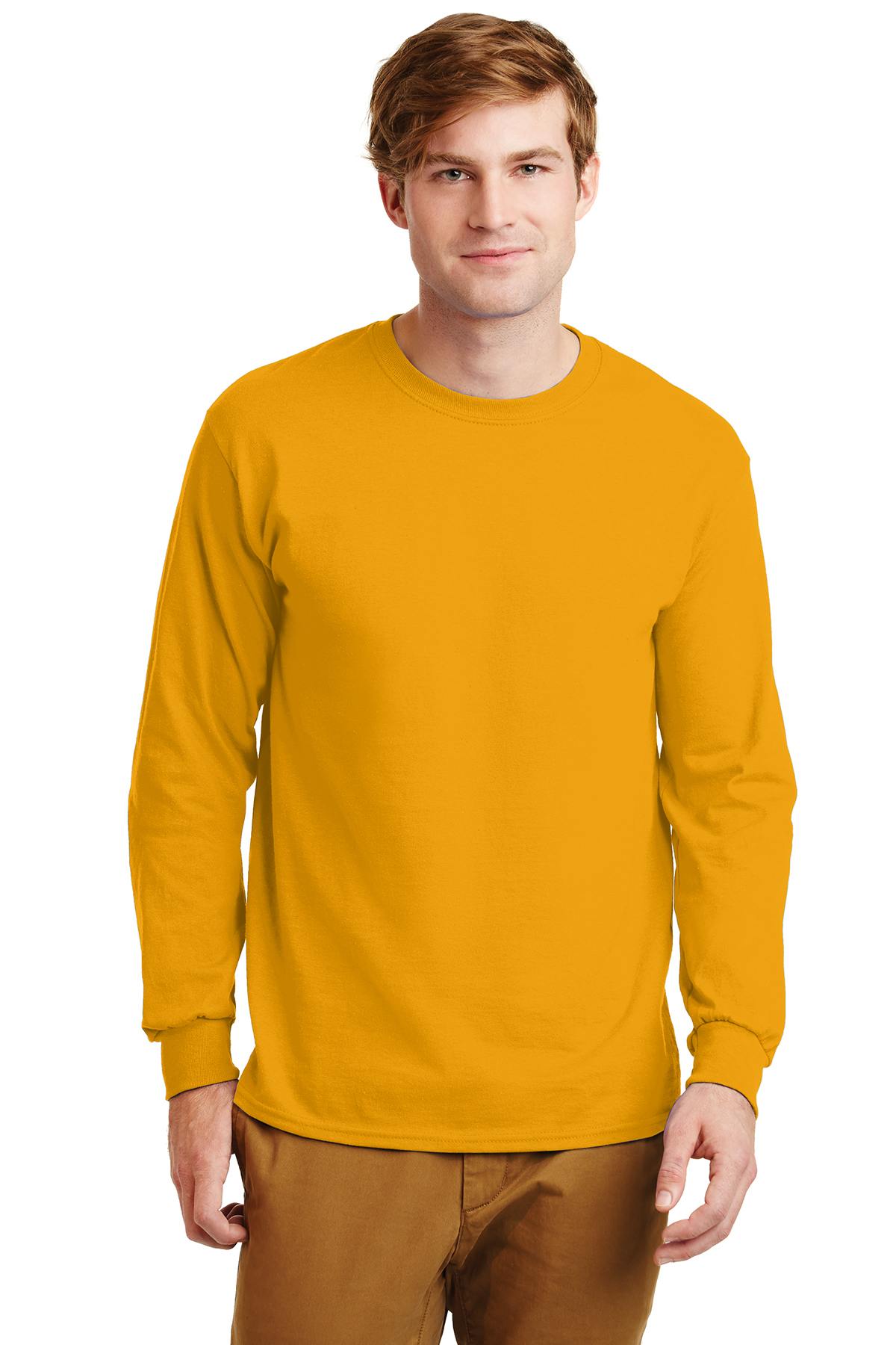 1a03928c Gildan® - Ultra Cotton® 100% Cotton Long Sleeve T-Shirt | 6-6.1 100 ...